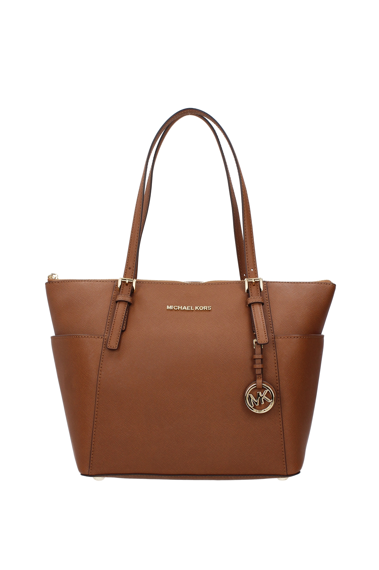 Borse shopping michael kors donna pelle marrone for Borse michael kors ebay