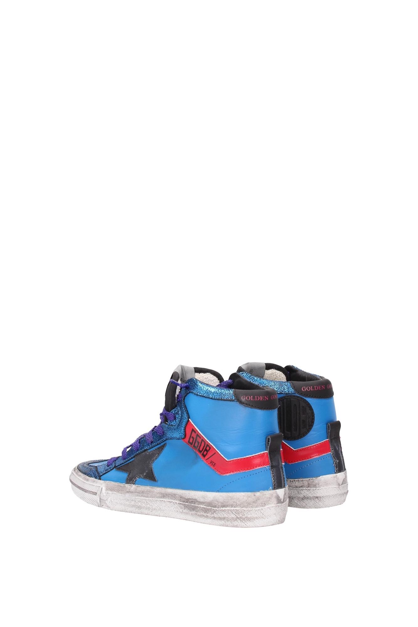 sneakers golden goose damen leder blau g26d129e7 ebay. Black Bedroom Furniture Sets. Home Design Ideas