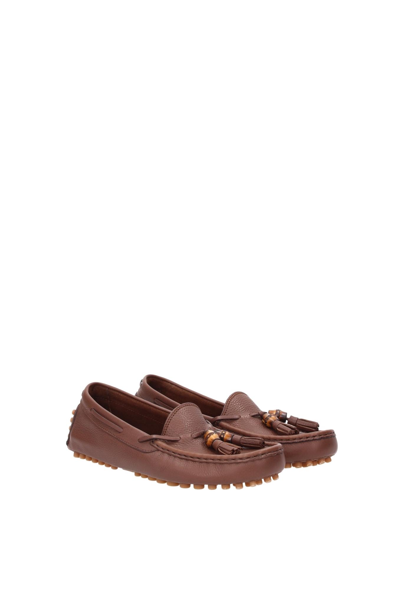 loafers gucci damen leder braun 370695bxo002138 ebay. Black Bedroom Furniture Sets. Home Design Ideas