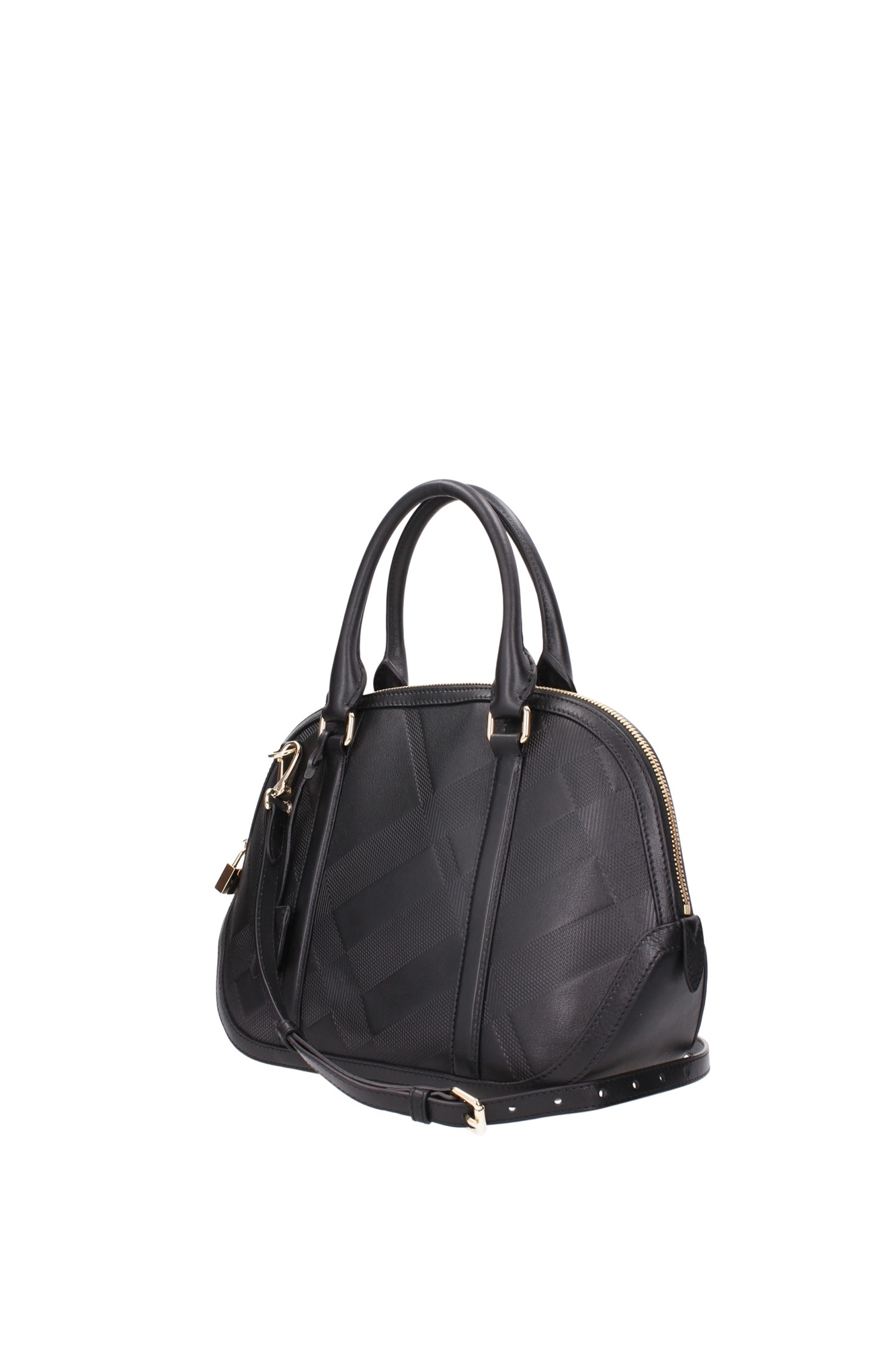 Hand Bags Burberry Women Leather Black 3949802 | eBay