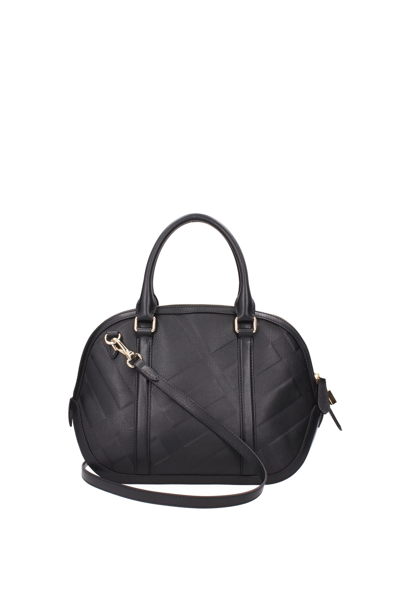 Hand Bags Burberry Women Leather Black 3949802 | eBay