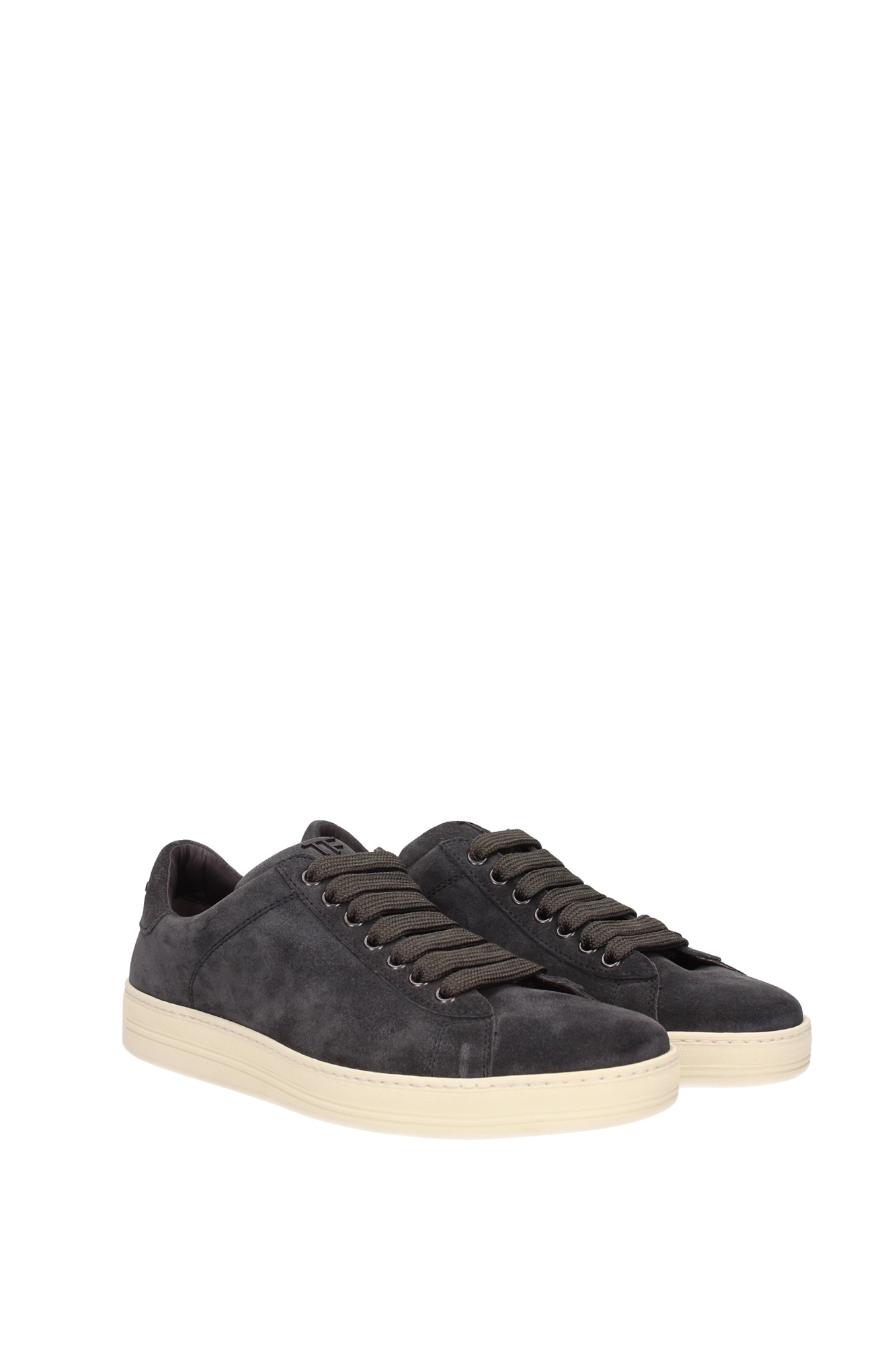 Sneakers Tom Ford Men Suede Gray 51J0866TCGRLAV
