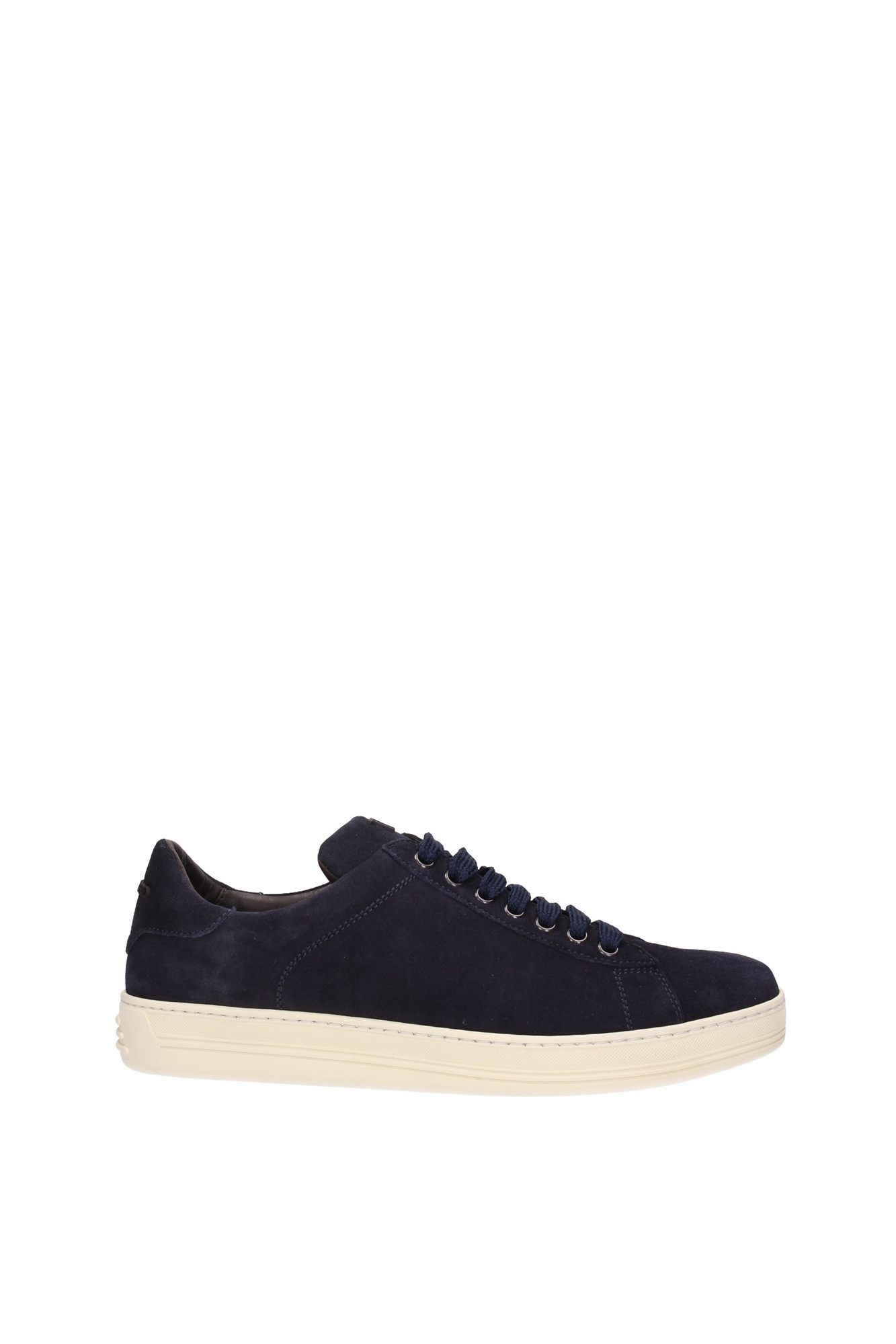 Sneakers Tom Ford Men Suede Blue 51J0866TCGRBLU