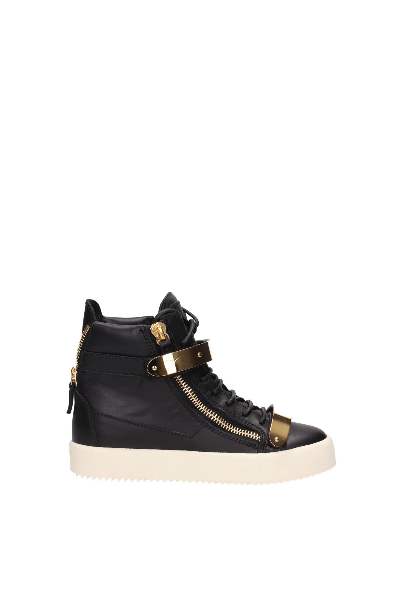 sneakers giuseppe zanotti damen leder schwarz rs5029maynero. Black Bedroom Furniture Sets. Home Design Ideas