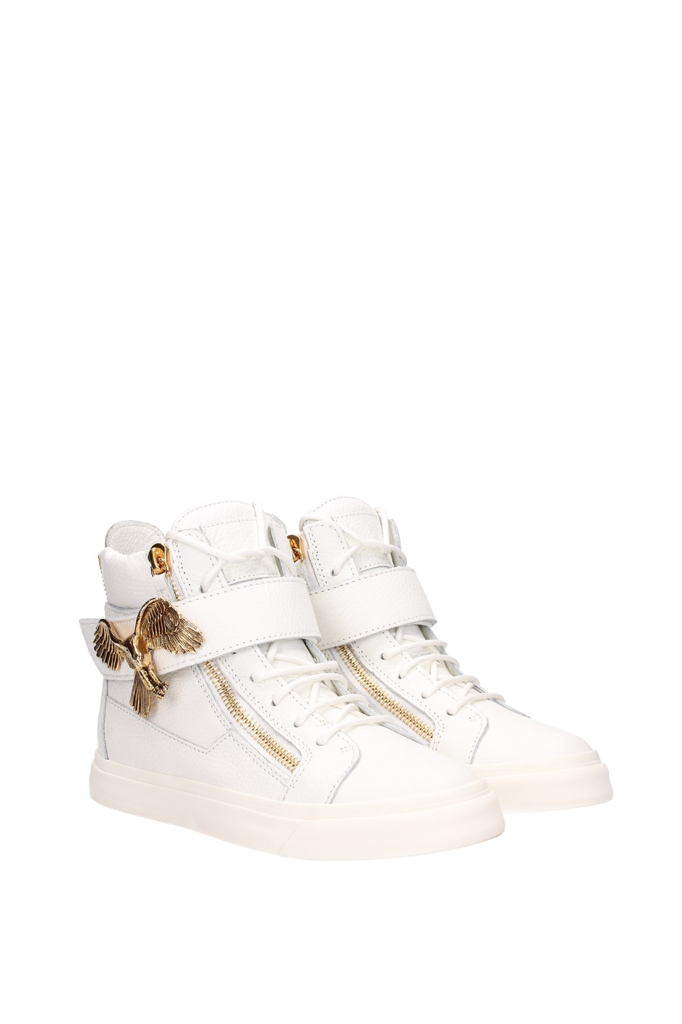 sneakers giuseppe zanotti damen leder wei rds428londonbianco ebay. Black Bedroom Furniture Sets. Home Design Ideas