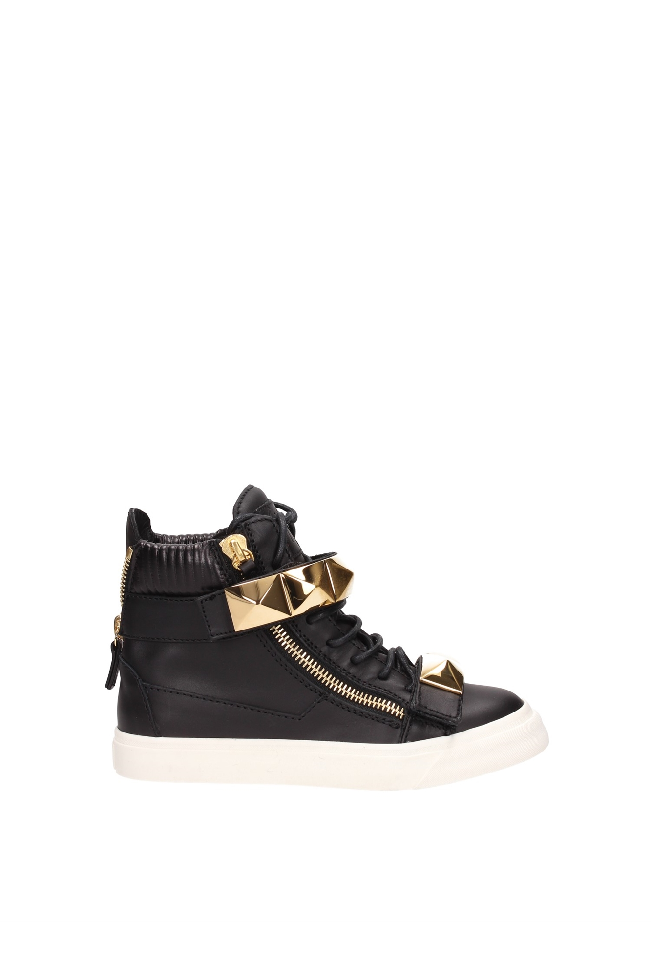 sneakers giuseppe zanotti damen leder schwarz rw4079londonnero ebay. Black Bedroom Furniture Sets. Home Design Ideas