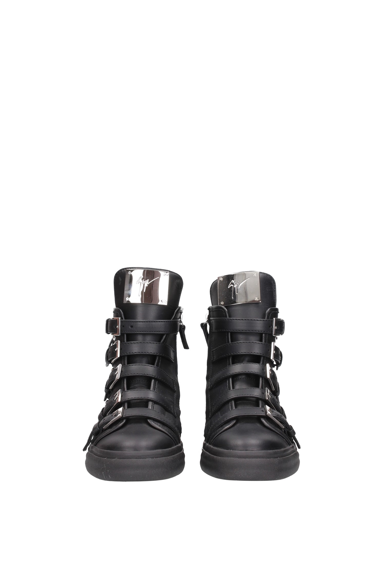 sneakers giuseppe zanotti damen leder schwarz rw4107londonnero ebay. Black Bedroom Furniture Sets. Home Design Ideas