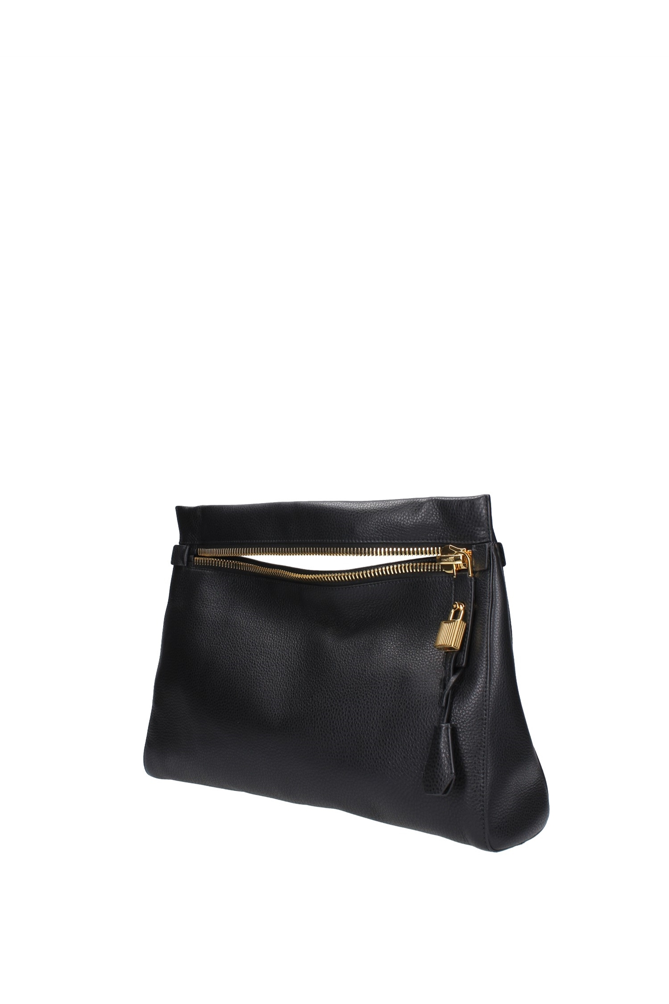 Cool Tom Ford Womens Small Lockfront Crossbody Bag Black In Black  Lyst