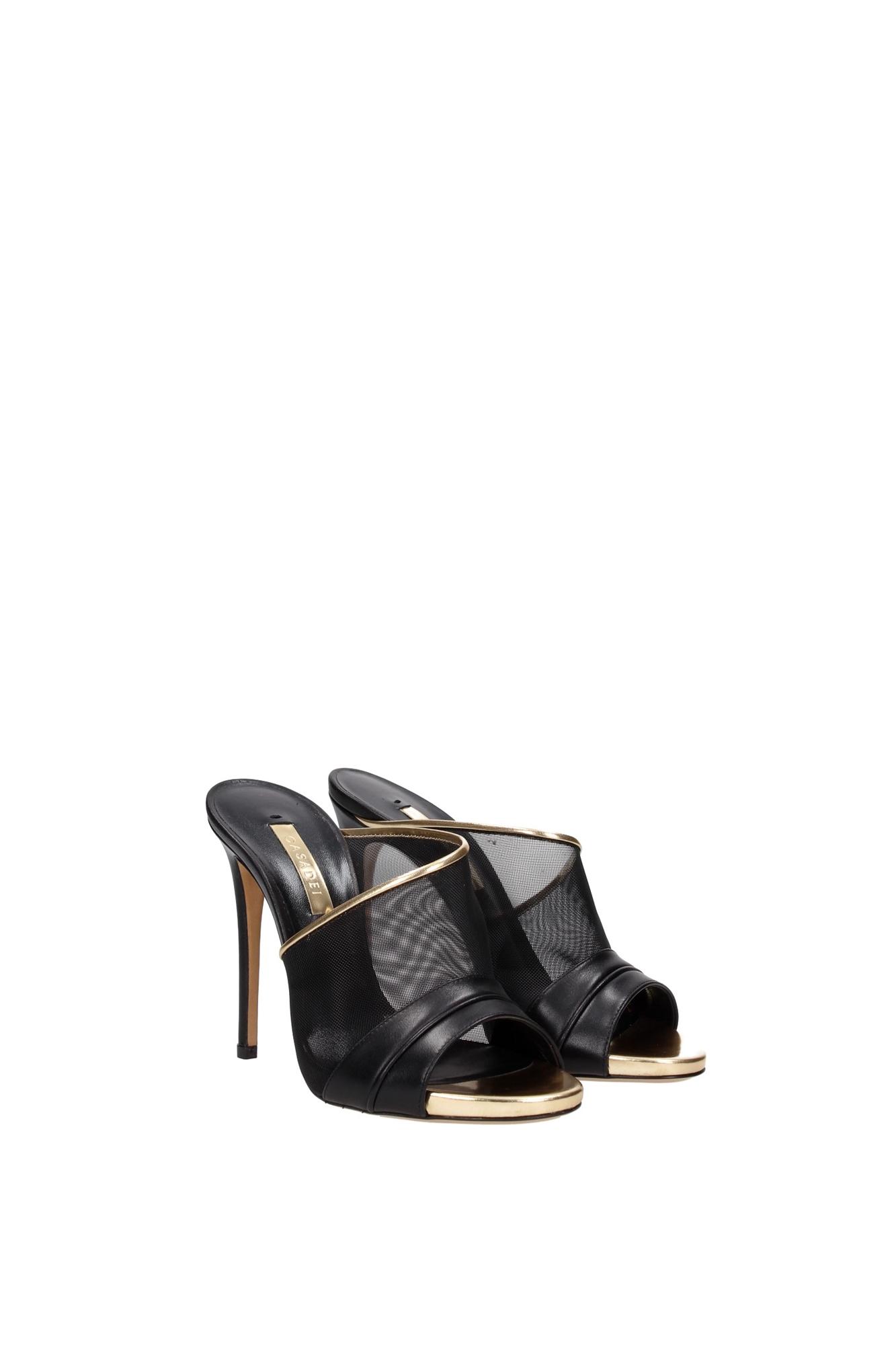 sandalen casadei damen leder schwarz 8007n123er2t432q12. Black Bedroom Furniture Sets. Home Design Ideas