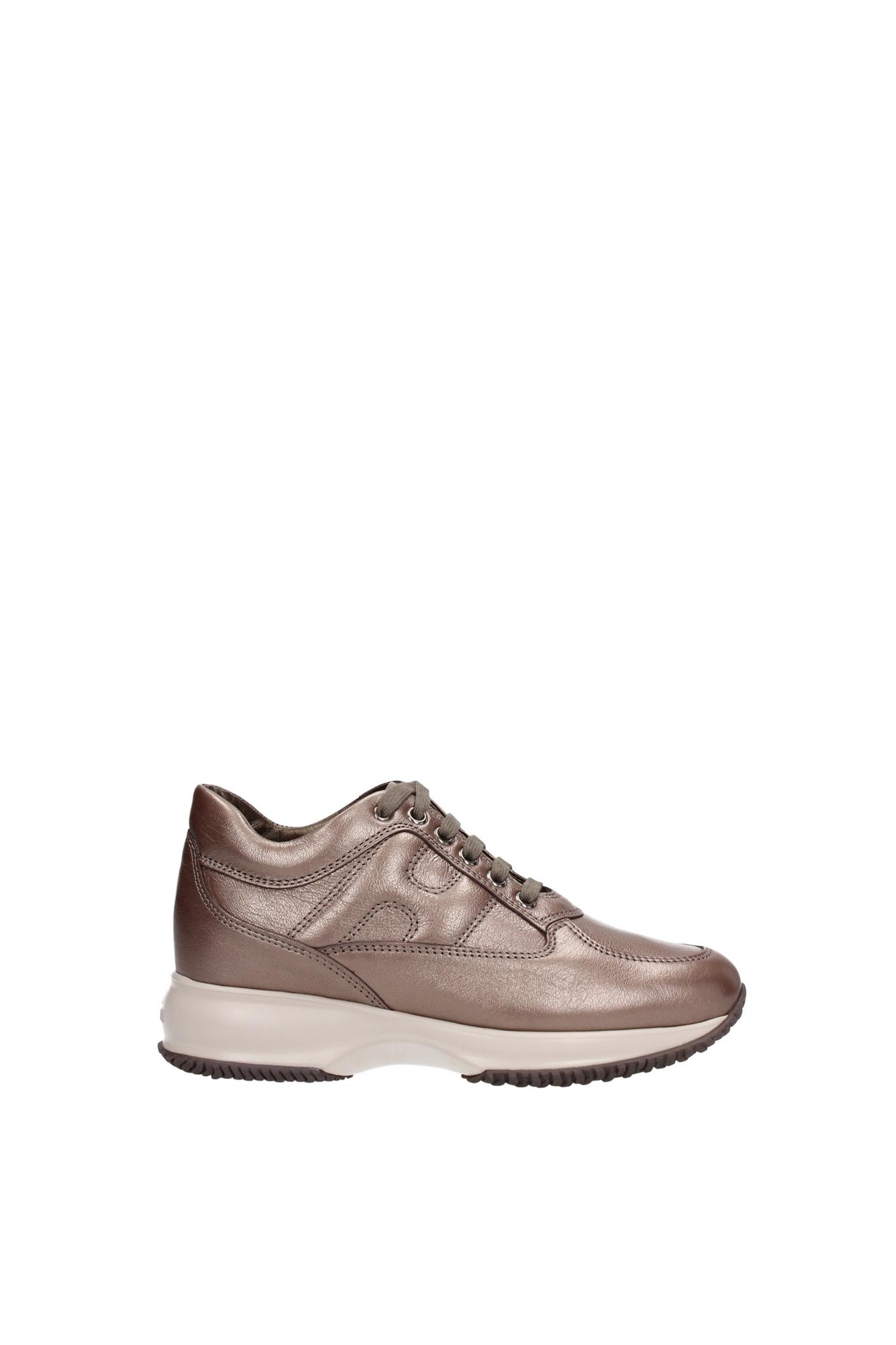 sneakers hogan damen leder braun hxw00n000106rrc407 ebay. Black Bedroom Furniture Sets. Home Design Ideas