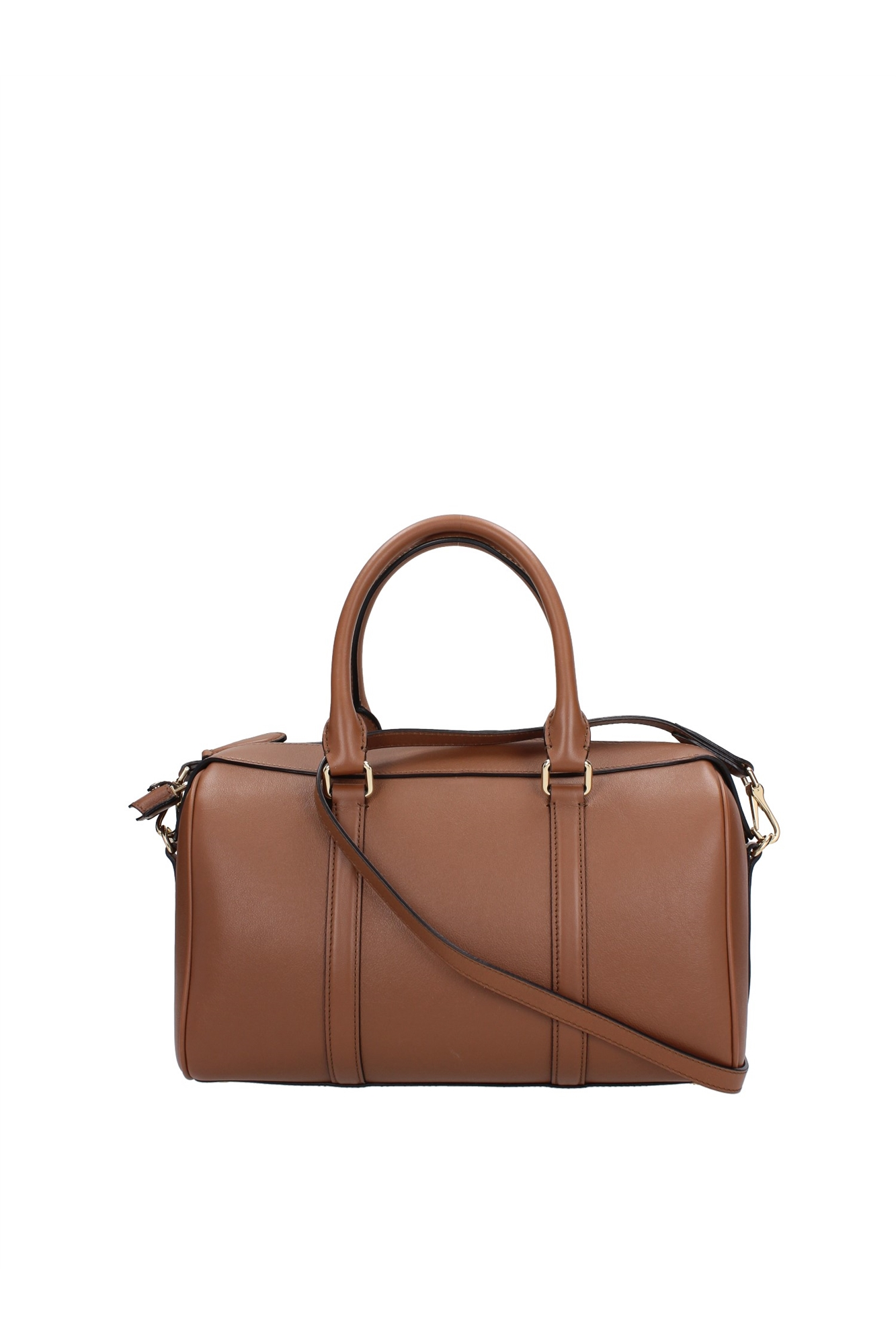 Bowling Bags Burberry Women Leather Brown 3939635 | eBay