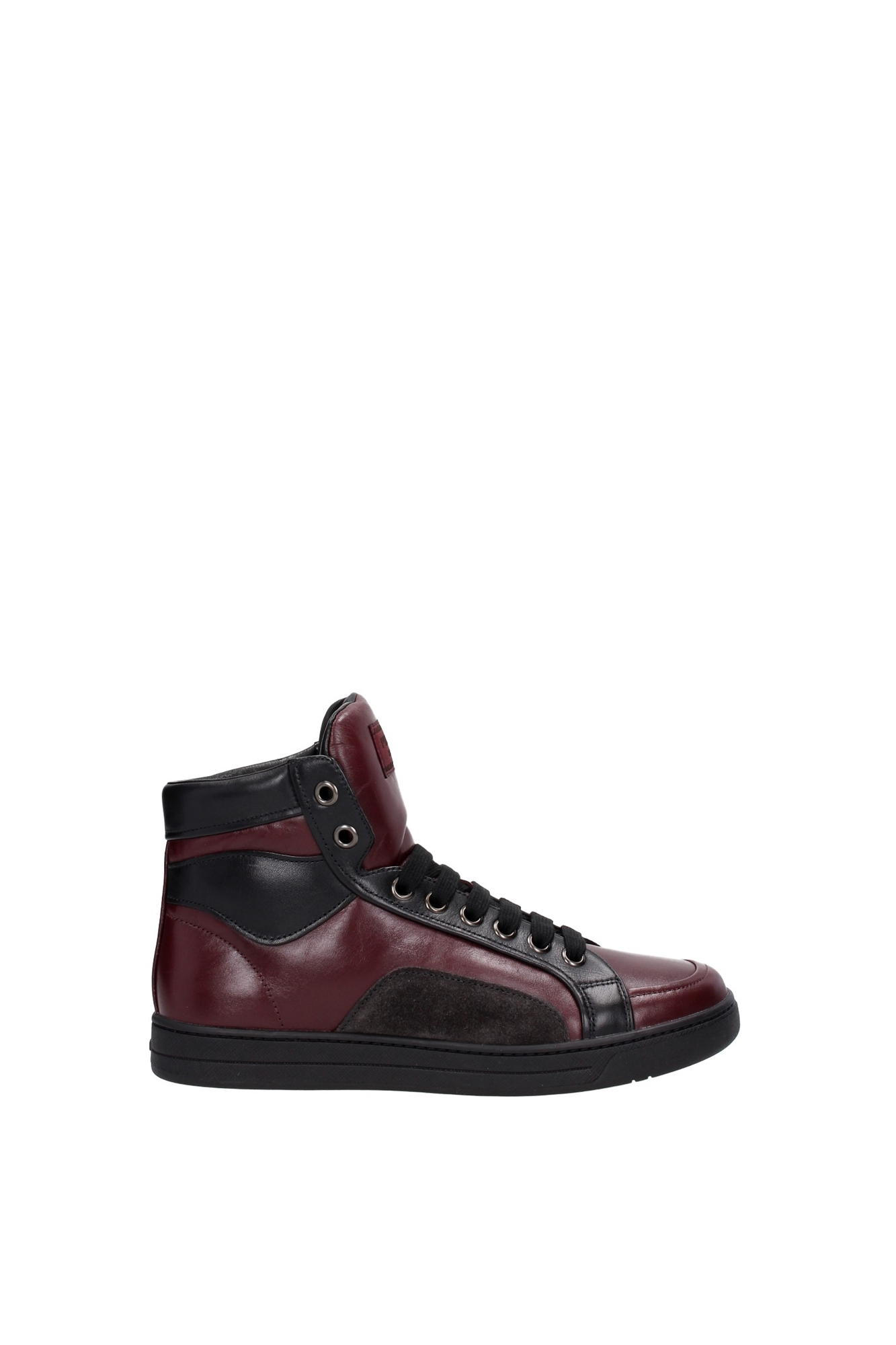 sneakers prada herren leder rot 4t2724bordeauxnero ebay. Black Bedroom Furniture Sets. Home Design Ideas
