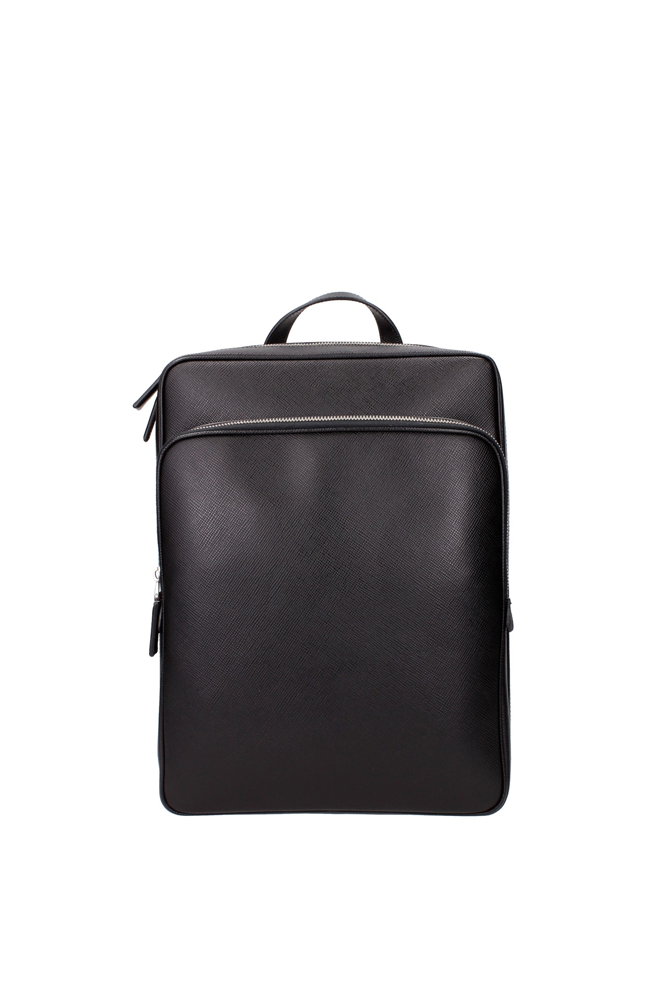 tasche rucksack prada herren leder schwarz vz0063nerosaffiano ebay. Black Bedroom Furniture Sets. Home Design Ideas