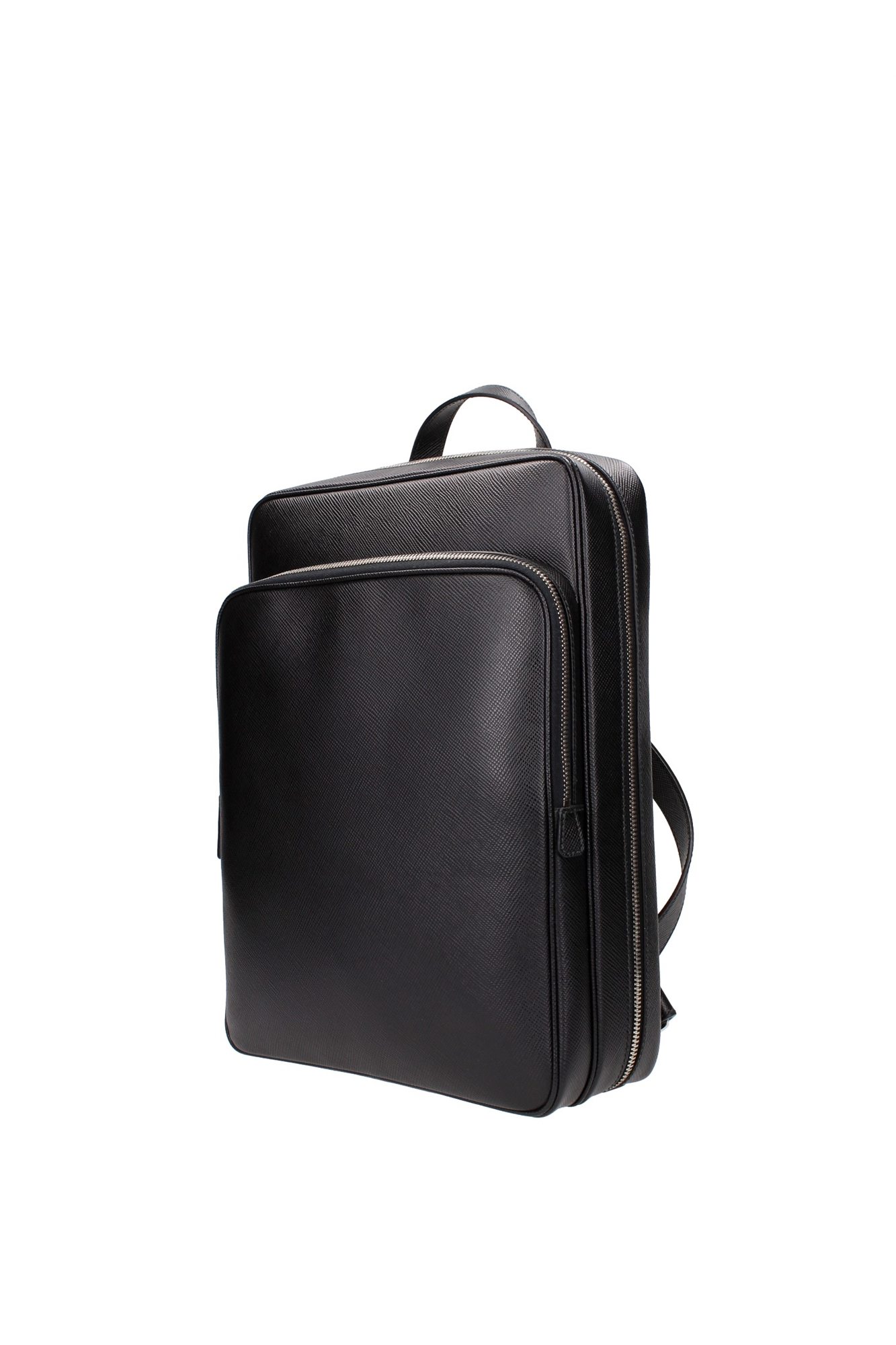 Bags Backpack Prada Men Leather Black VZ0063NEROSAFFIANO