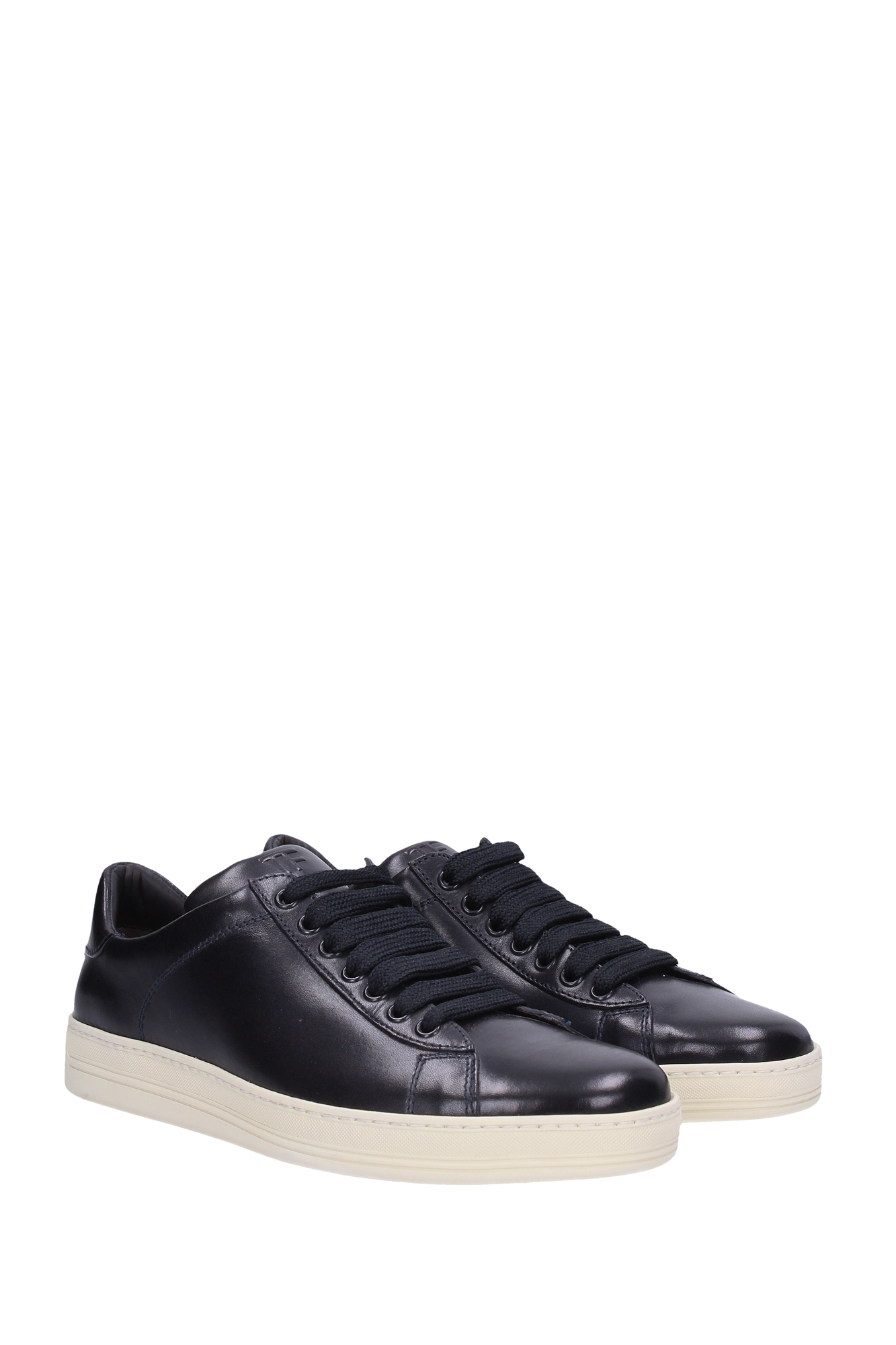 Sneakers Tom Ford Men Leather Blue 51J0866TKYAIND