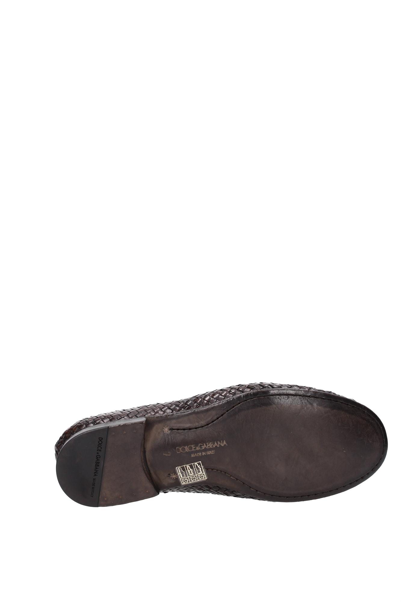 loafers dolce gabbana herren leder braun ca6552ac14380051. Black Bedroom Furniture Sets. Home Design Ideas