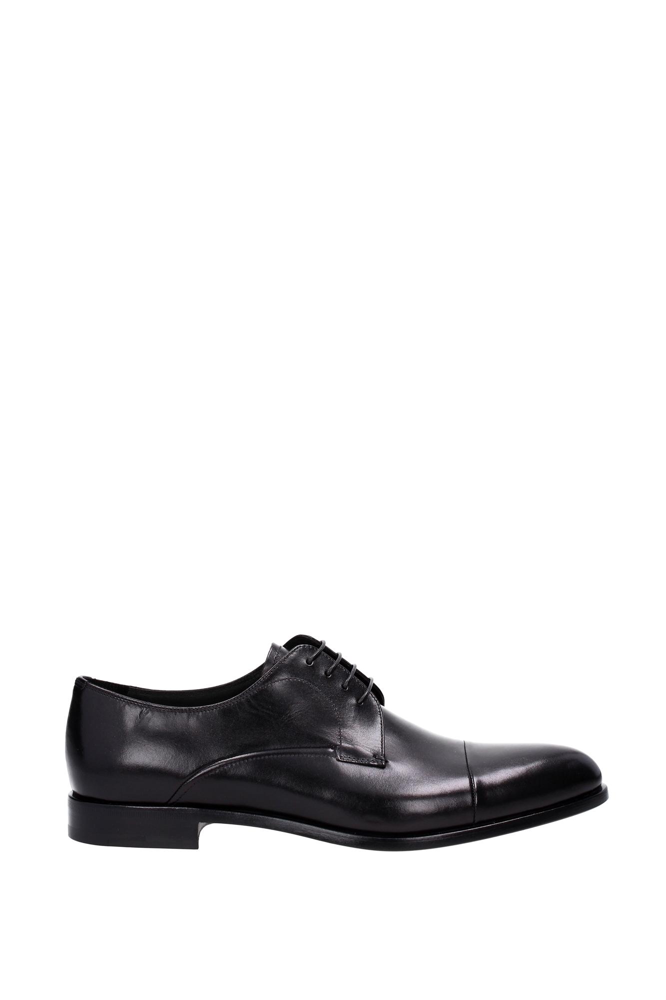 lace up shoes prada leather black 2ea100nero ebay