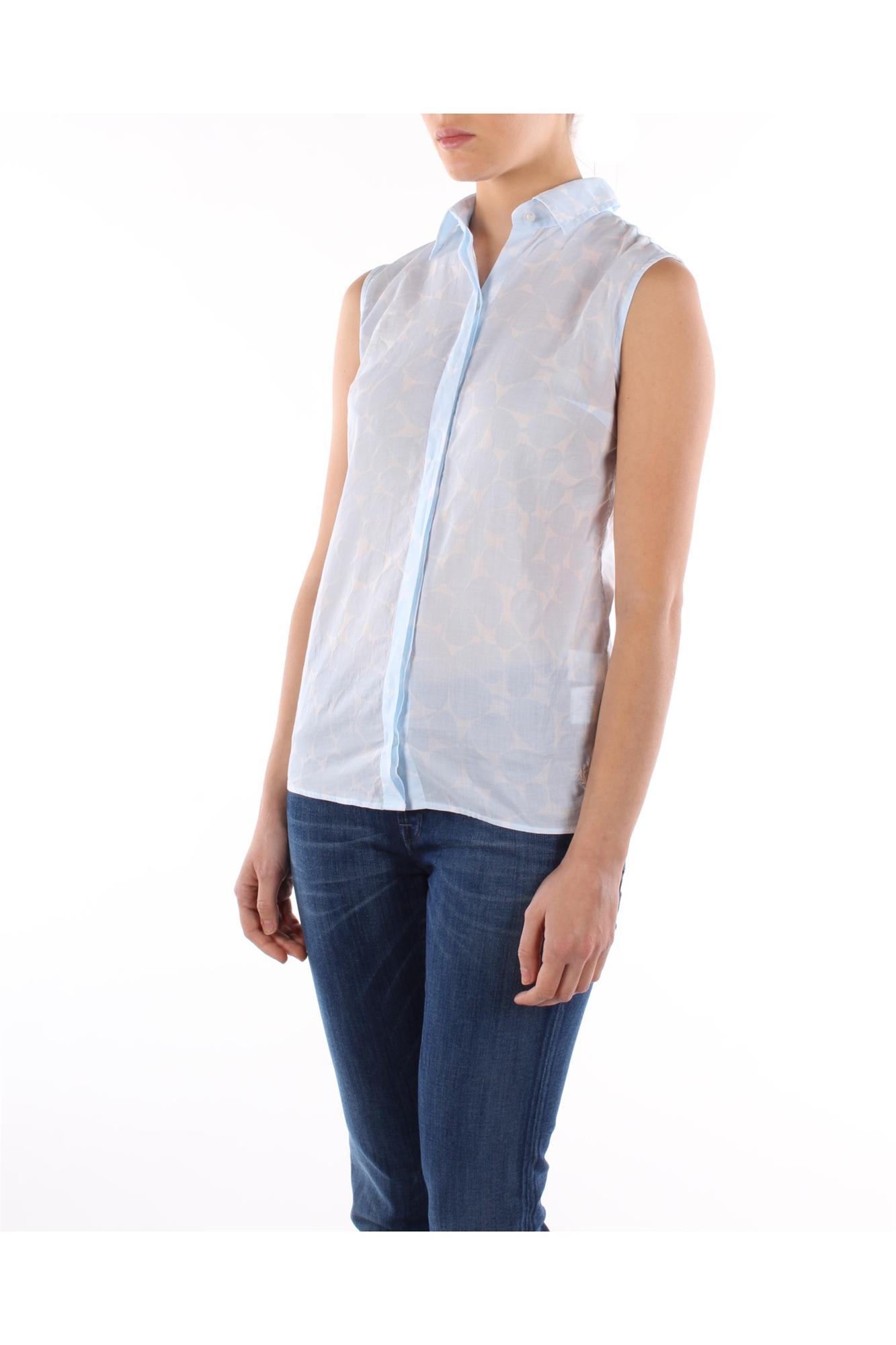 Shirts Fred Perry Women Cotton Light blue 31222179V0031 | eBay