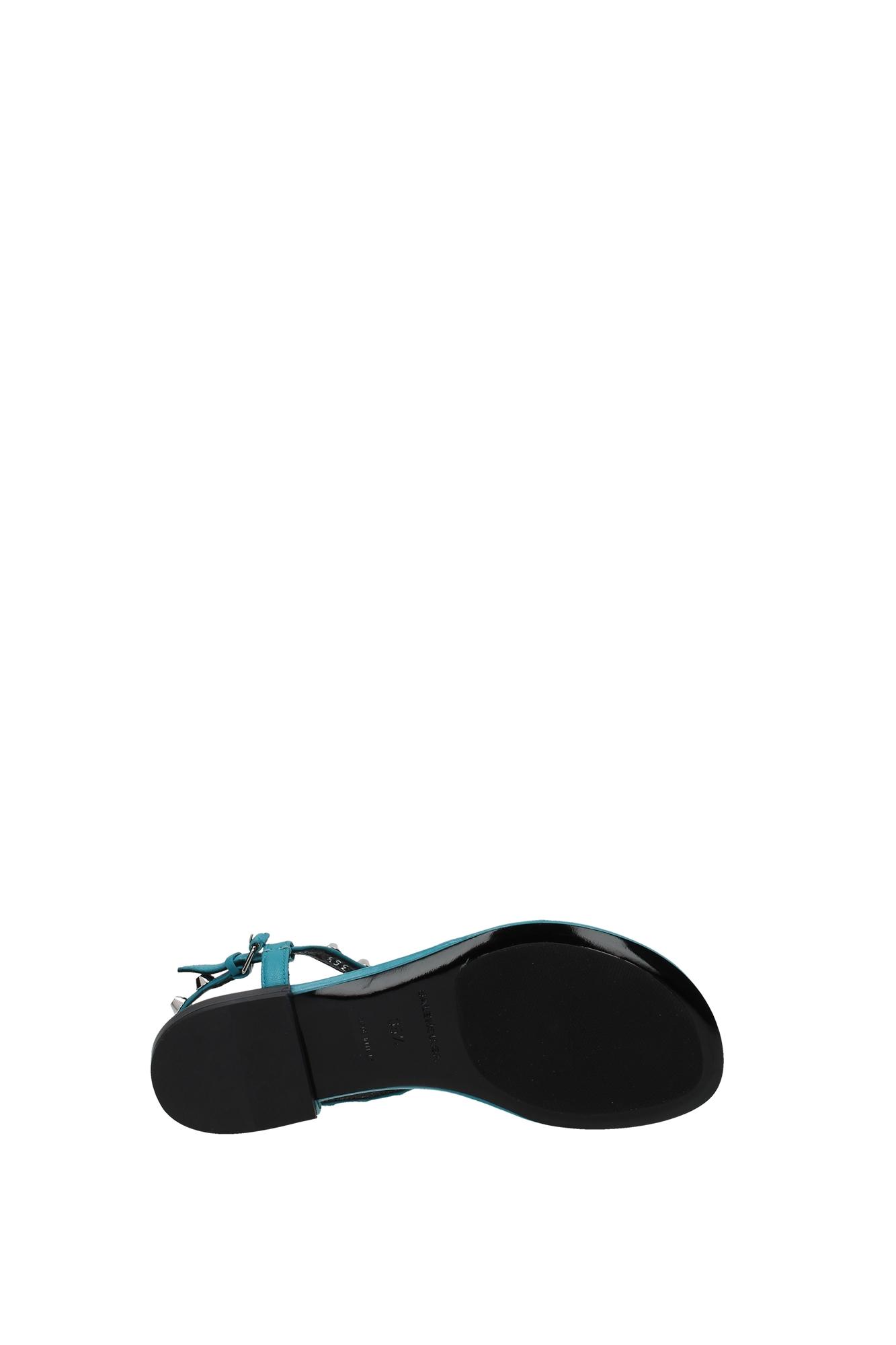 flip flops balenciaga damen leder himmlisch. Black Bedroom Furniture Sets. Home Design Ideas