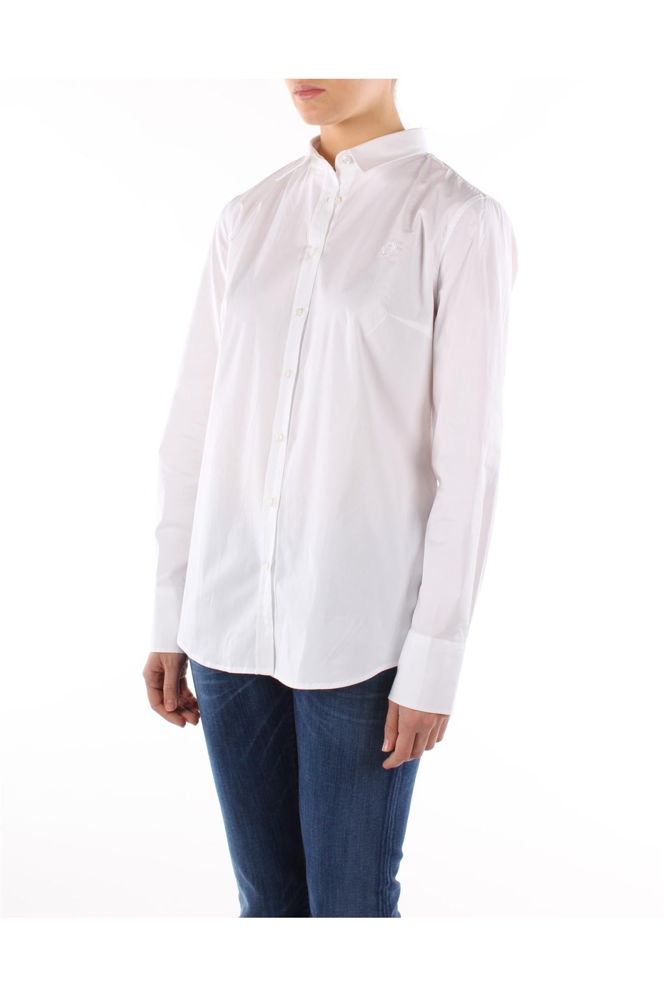 Shirts Fred Perry Women Cotton White 312023009100 | eBay
