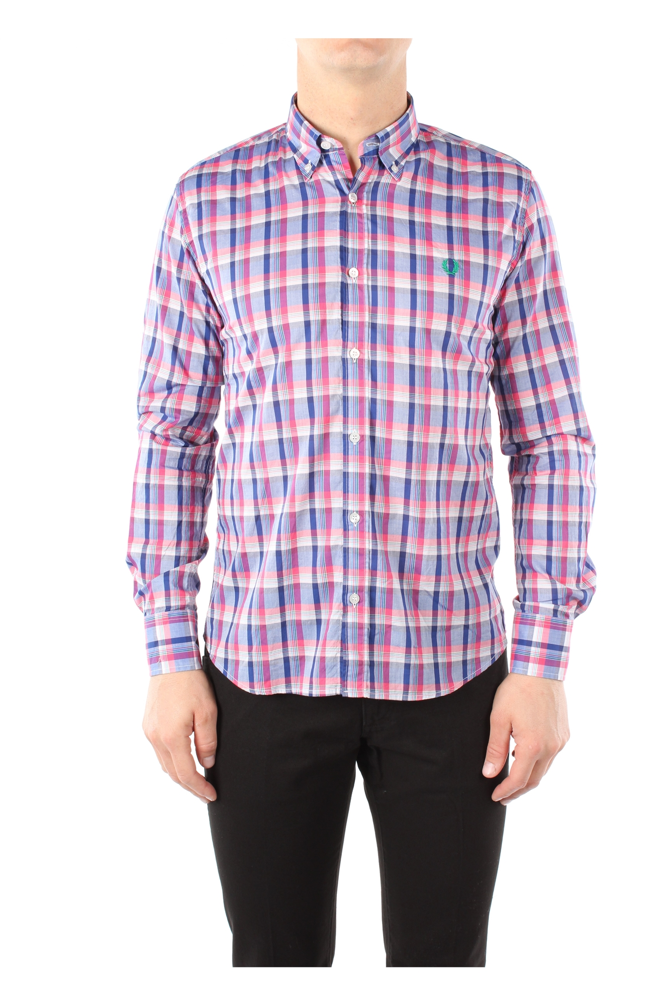Shirts Fred Perry Men Cotton Multicolor 30213555V0031 | eBay