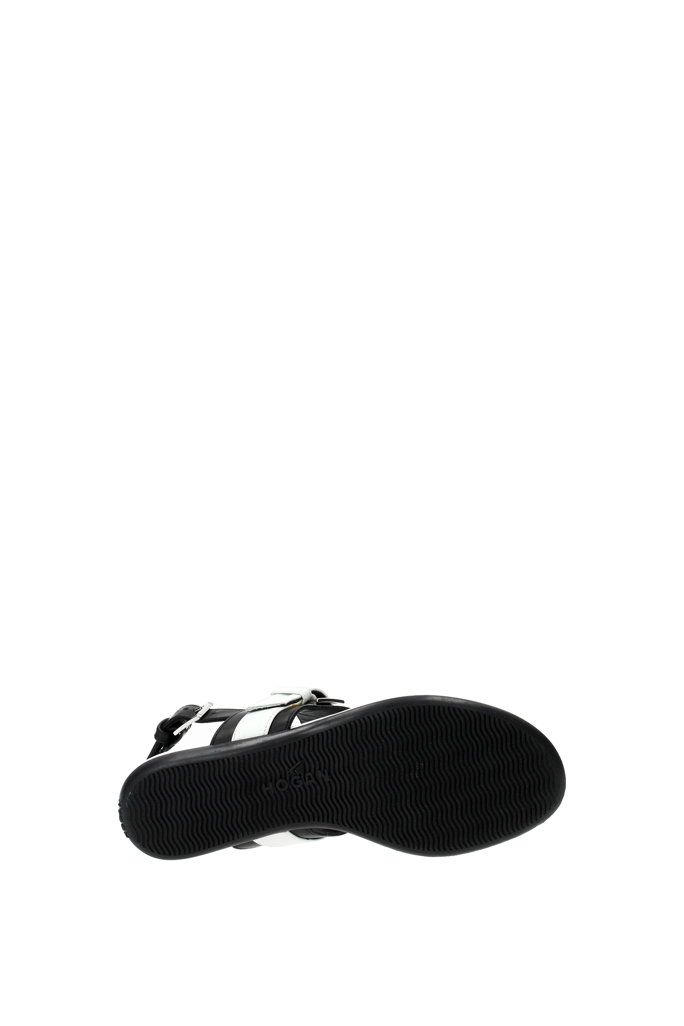 flip flops hogan damen leder schwarz hxw1330r4407y80002 ebay. Black Bedroom Furniture Sets. Home Design Ideas