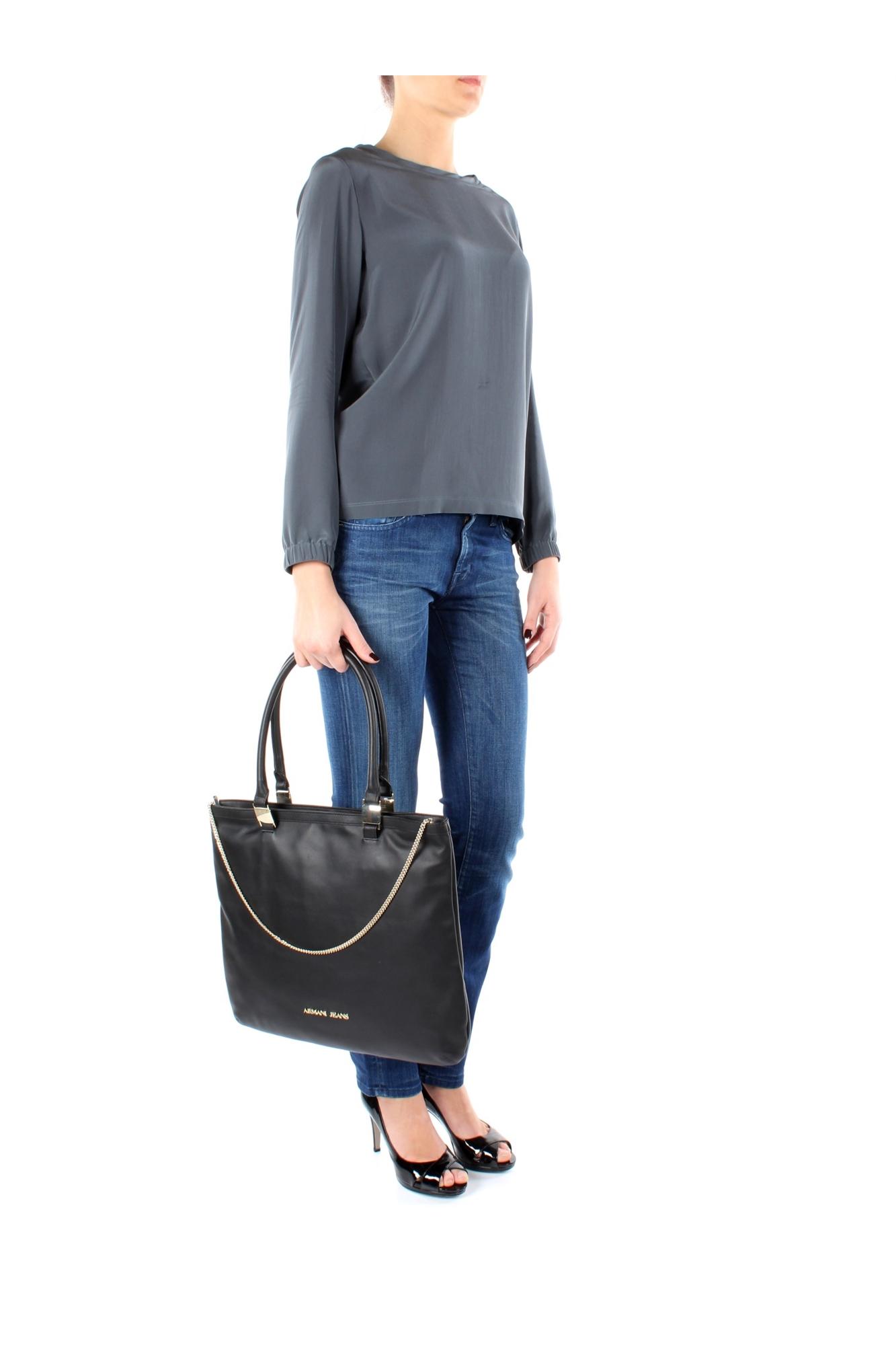 Borse Armani Jeans In Saldo : Borse a spalla armani jeans donna pelle nero ww