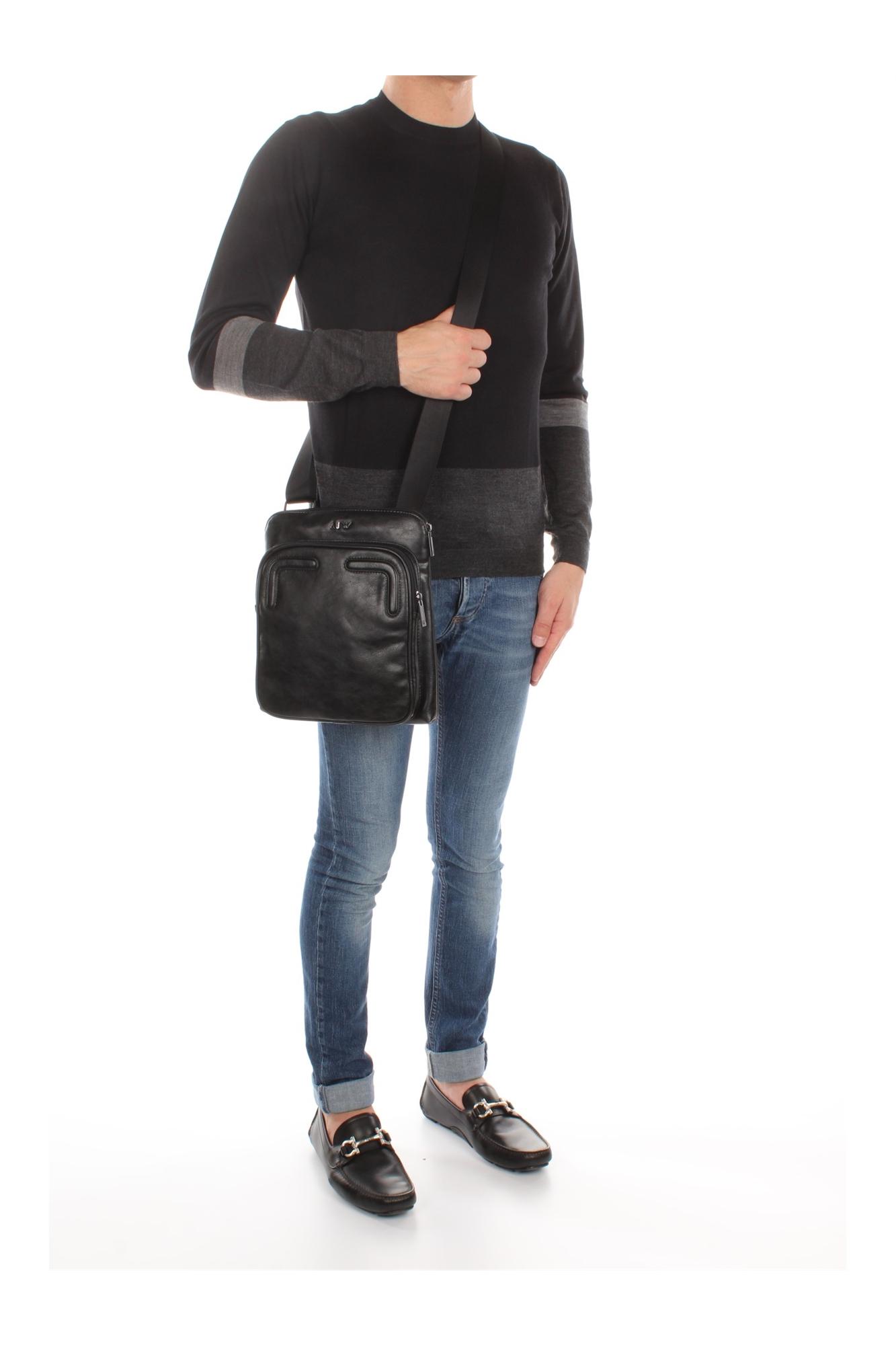 Borse A Tracolla Uomo Armani Jeans : Borse a tracolla armani jeans uomo poliuretanica nero