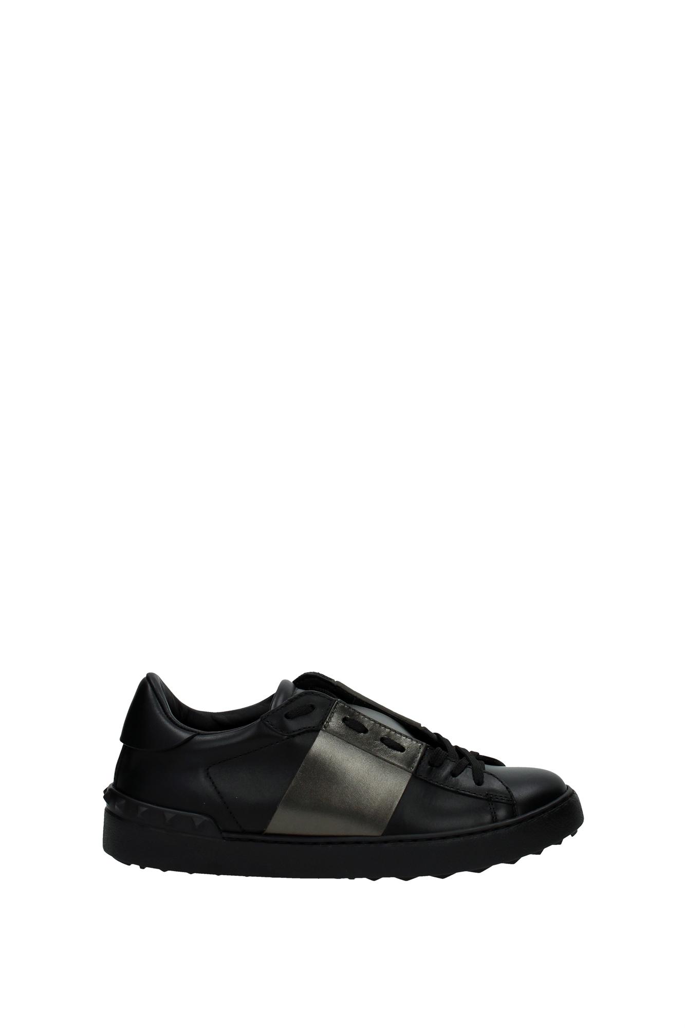 sneakers valentino herren leder schwarz ly0s0830tlvn07 ebay. Black Bedroom Furniture Sets. Home Design Ideas