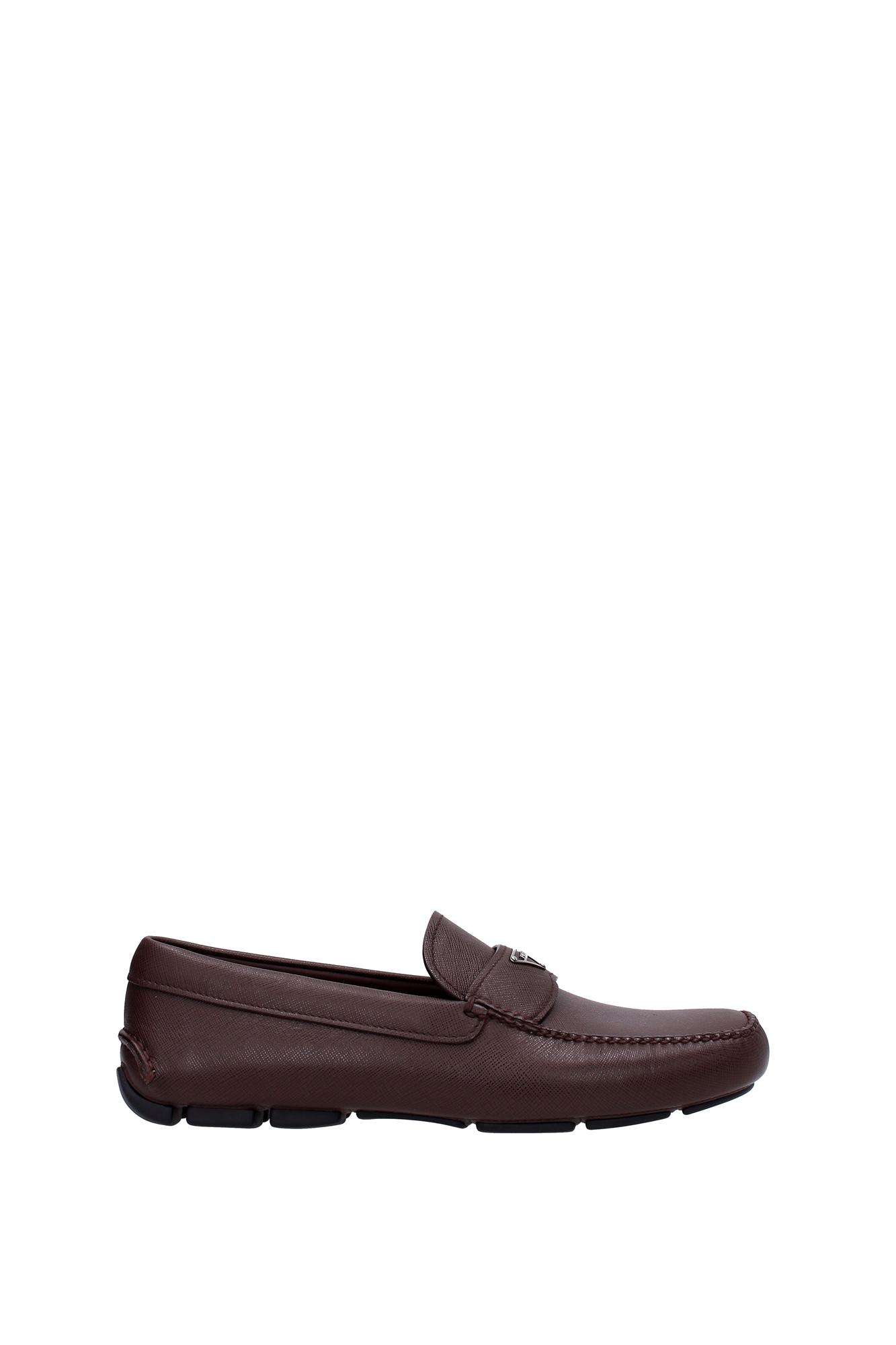Gentleman/Lady Loafers Men Prada Men Loafers - Leather (2DD126CAFFE) service Modern design Explosive good goods 9a4389