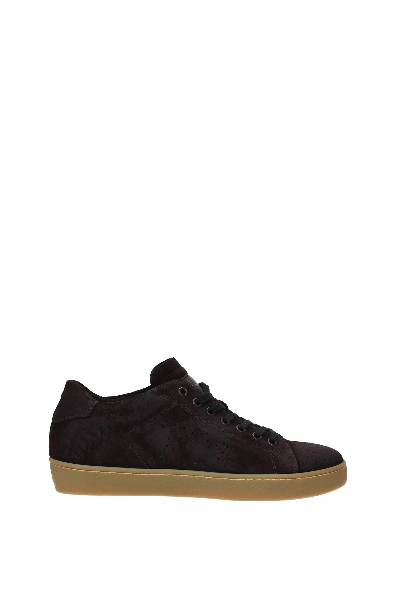 Scarpe Scarpe Scarpe casual da uomo  Sneakers Leather Crown uomo -  (M136COFFEEAMBRA) 099924