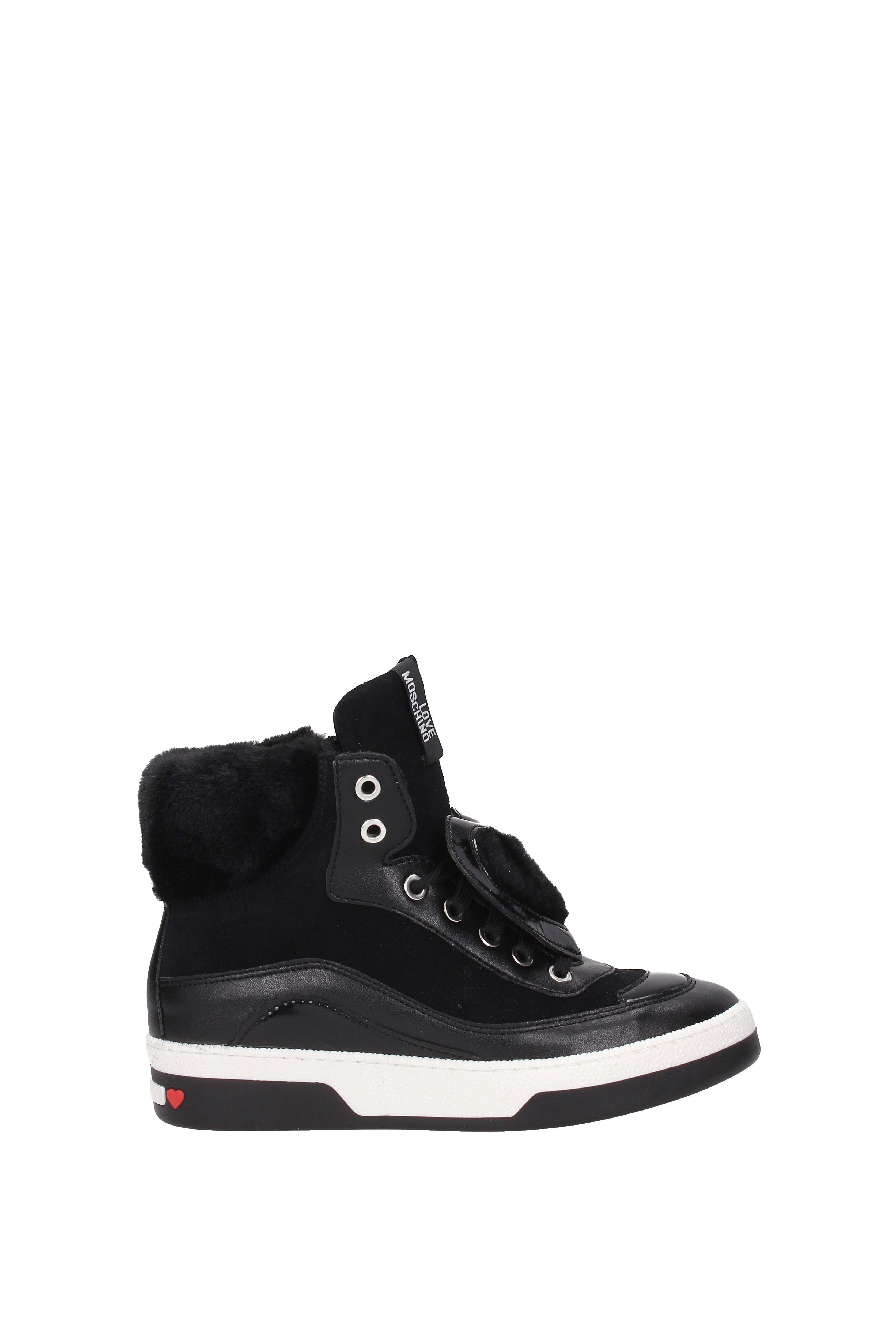 Sneakers-Love-Moschino-Women-Suede-JA15343G04JJ1