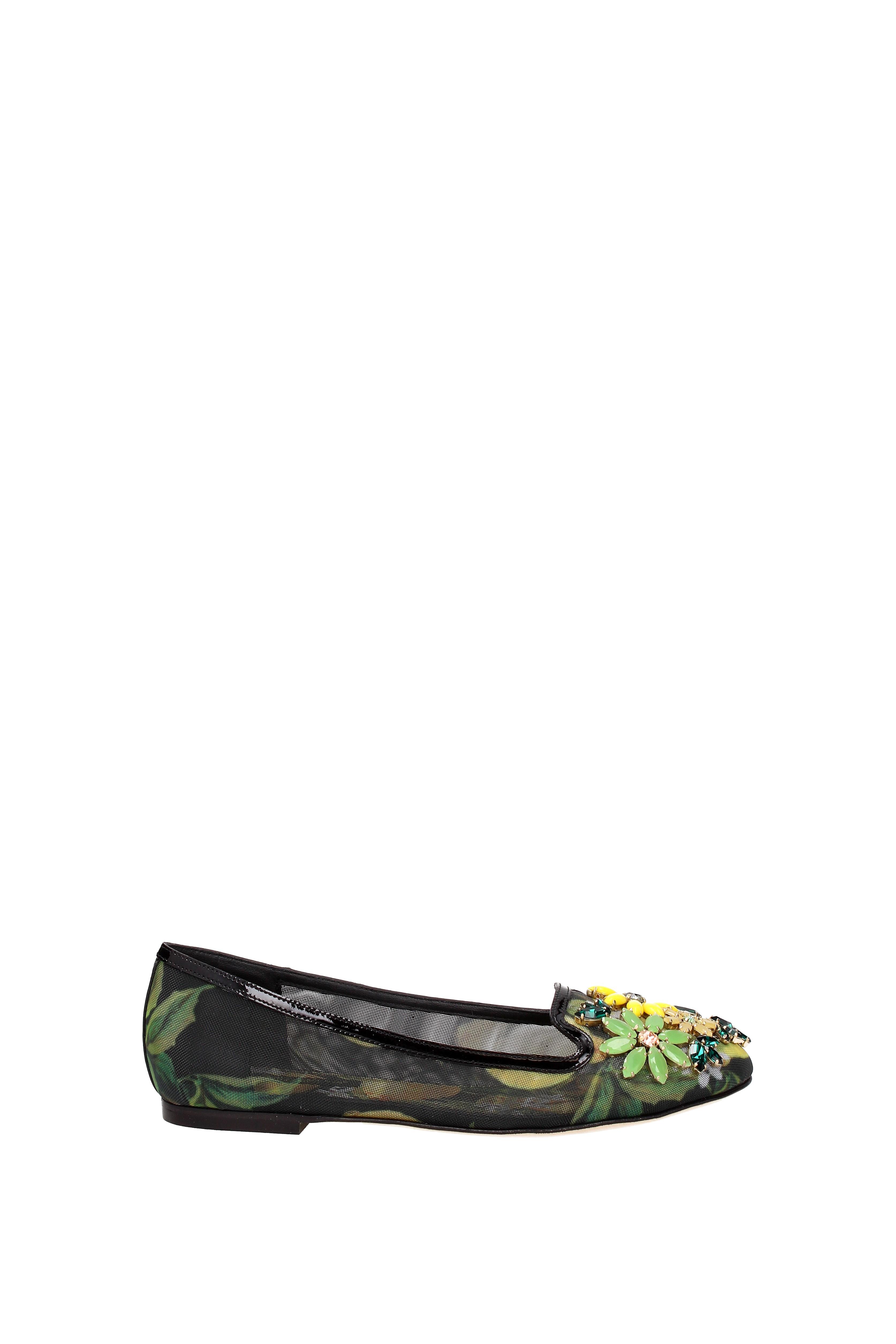 Ballet flats Women Dolce&Gabbana Women flats - Fabric  (CP0019AR361) 7a5380