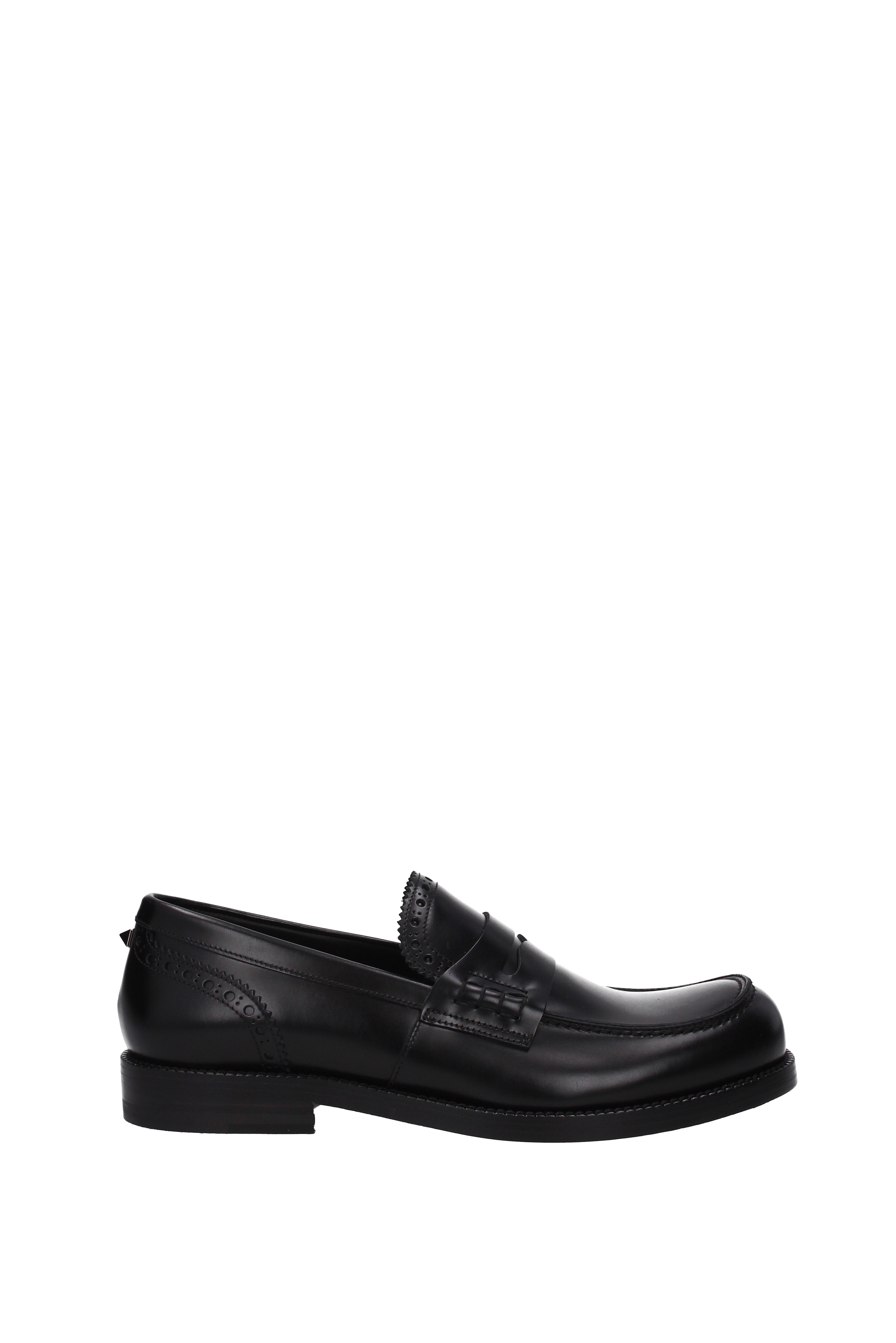 Loafers Valentino Garavani Men - Leather (0S0950ABK)