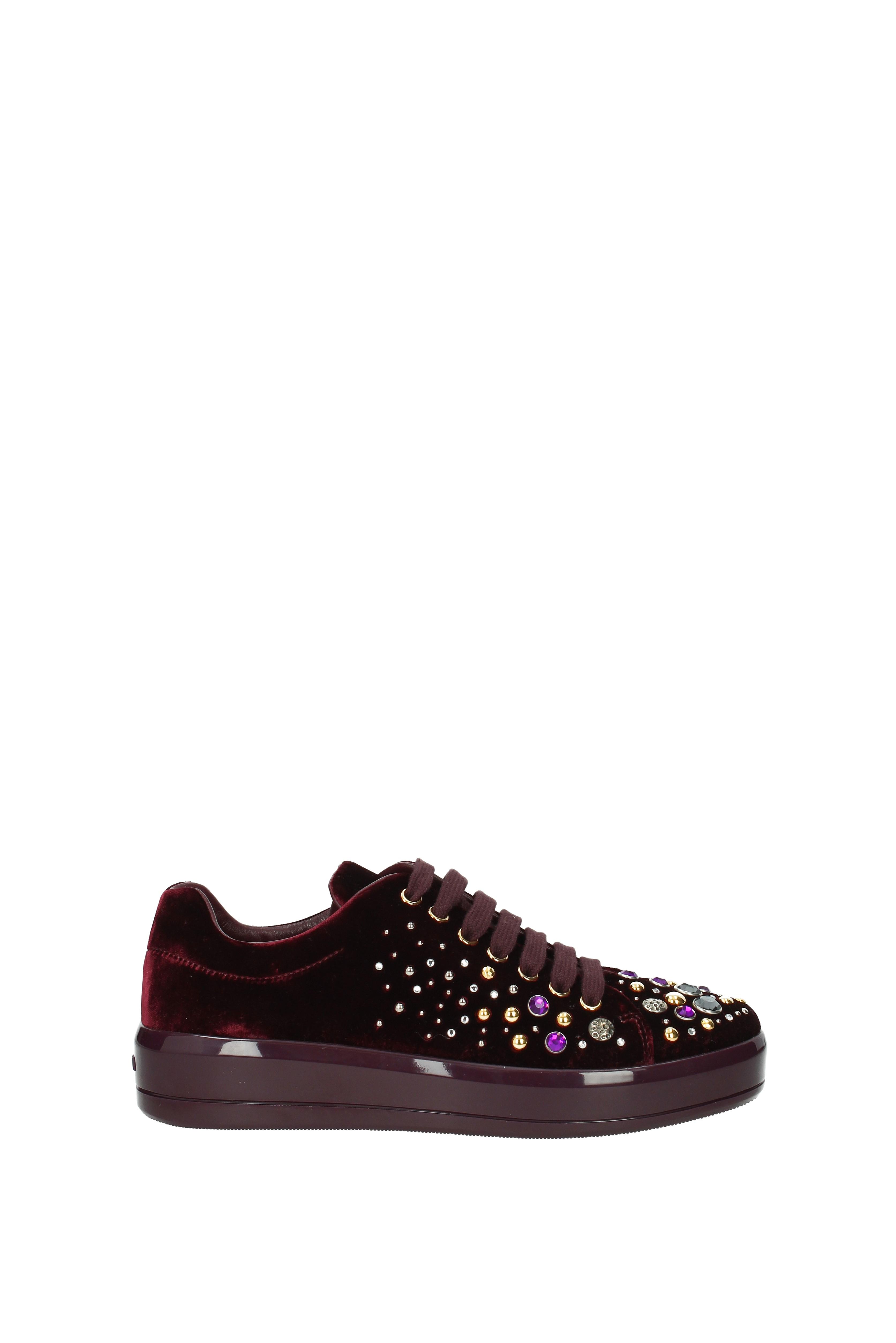 Sneakers Prada Women - Velvet Velvet - (1E971H) eedb62