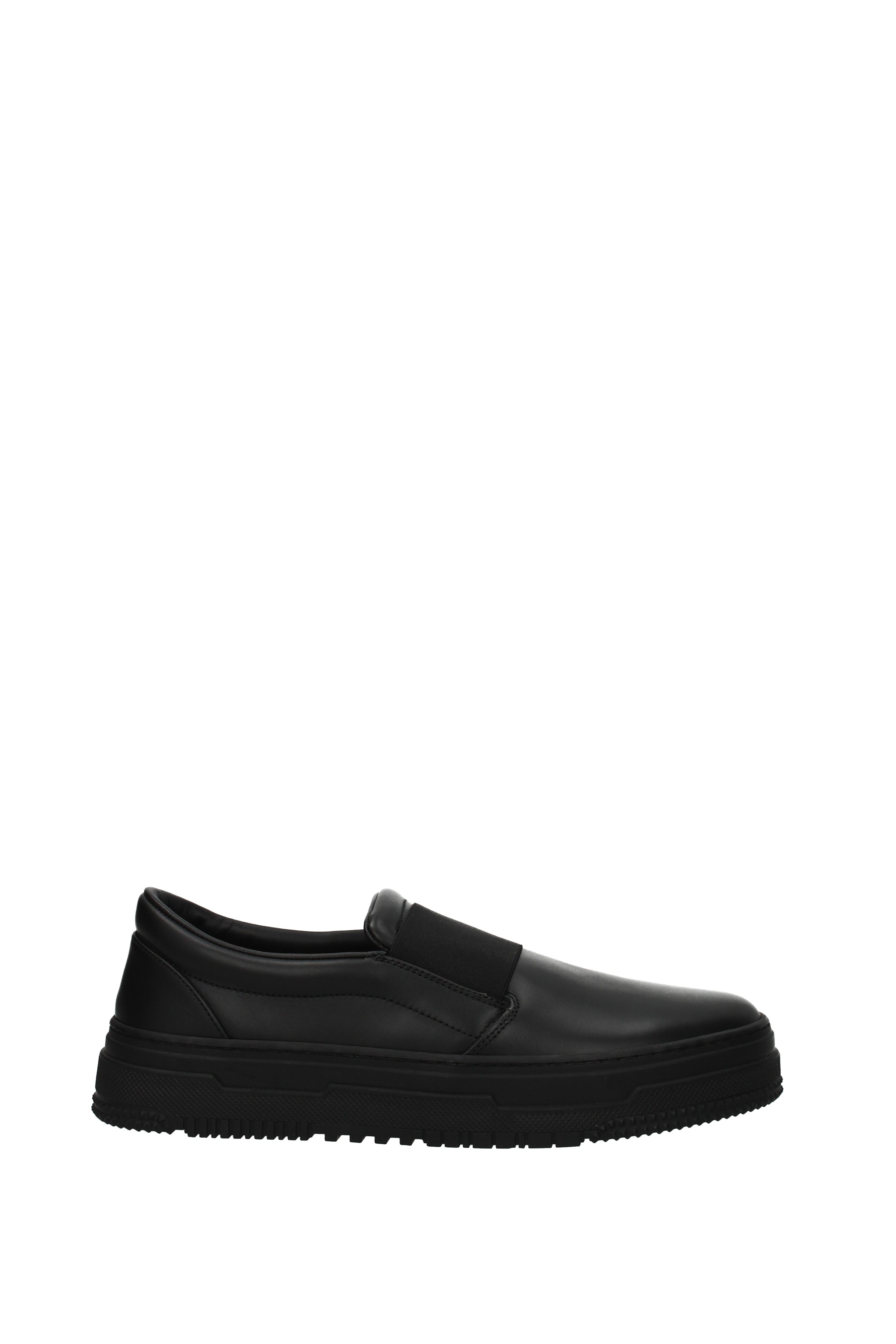 Scarpe casual da uomo  Slip On Valentino Garavani uomo - Leather (2S0929BLF)