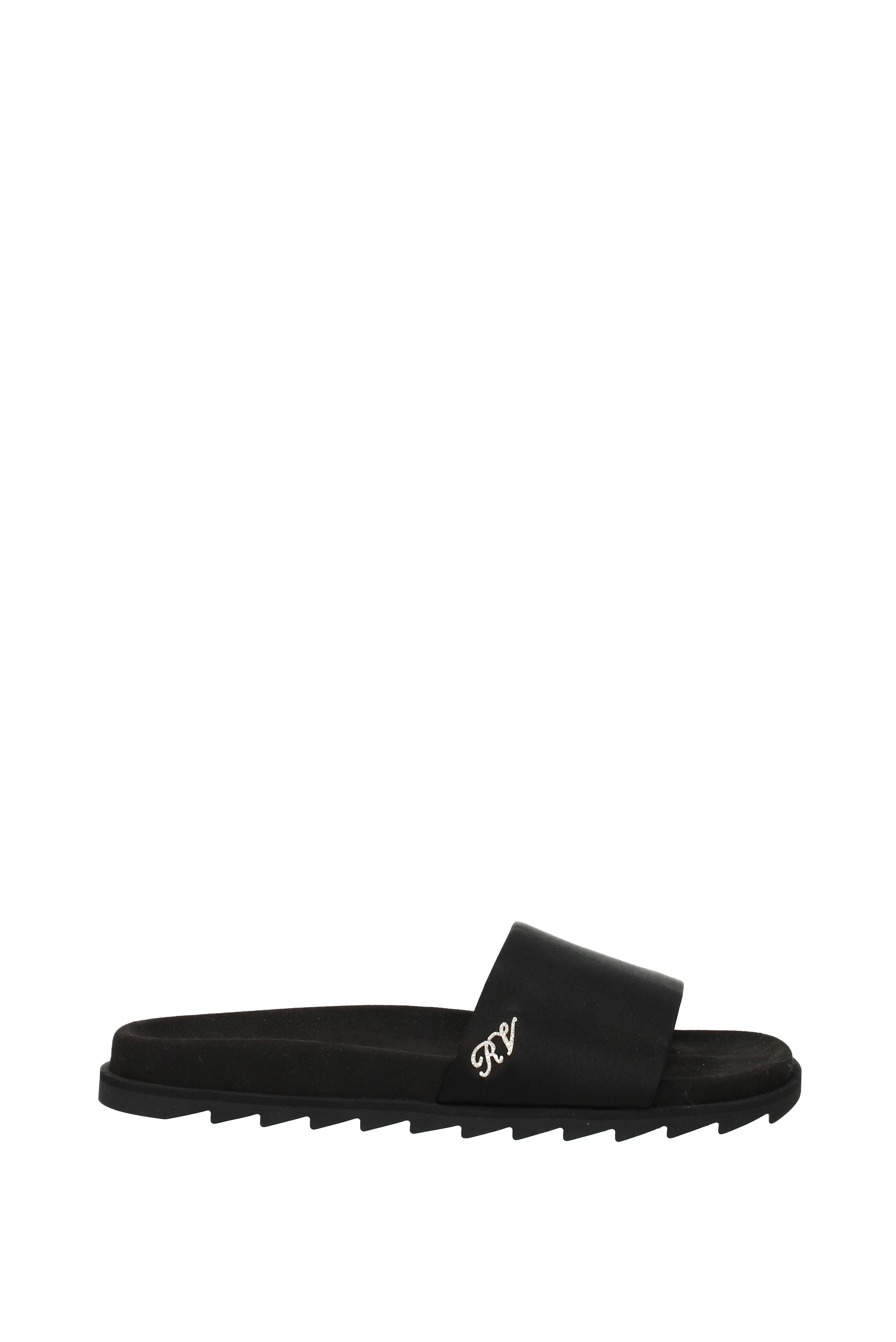 Slippers and Fabric clogs Roger Vivier Damens - Fabric and  (RVW45821490RS0) 1d6faf