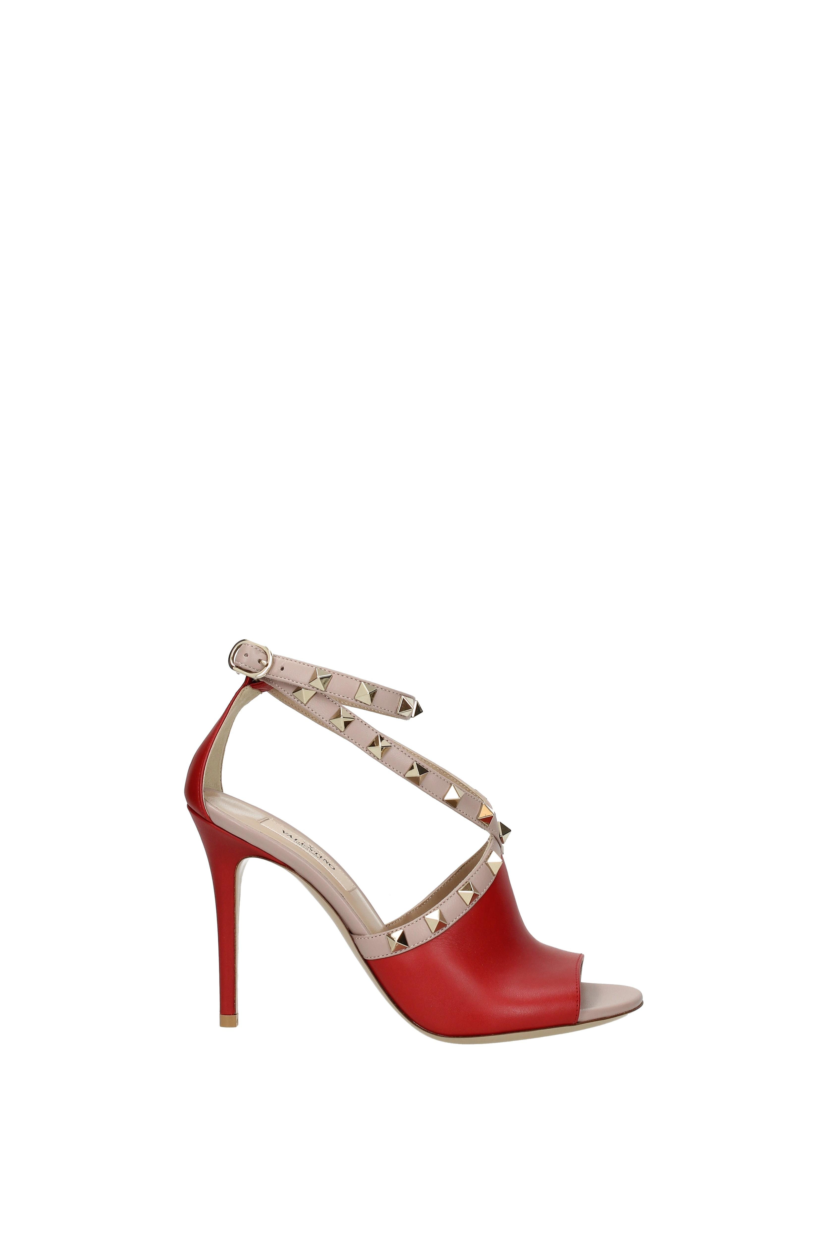 sandales valentino cuir garavani femmes - cuir valentino (2s0f03gcc) a29816