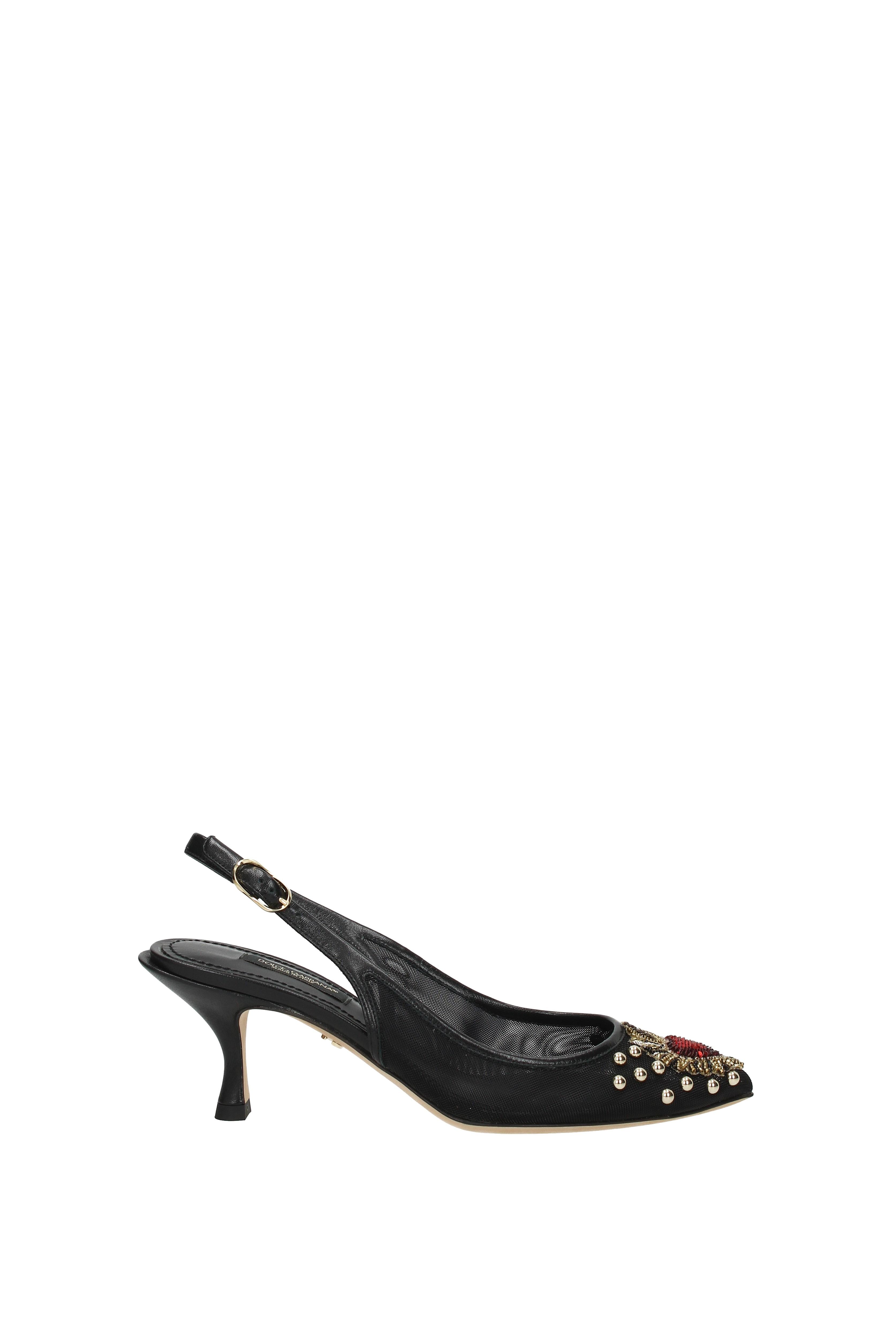Sandals Dolce&Gabbana lori Women - (CG0247AS789) Fabric  (CG0247AS789) - a5fb2e