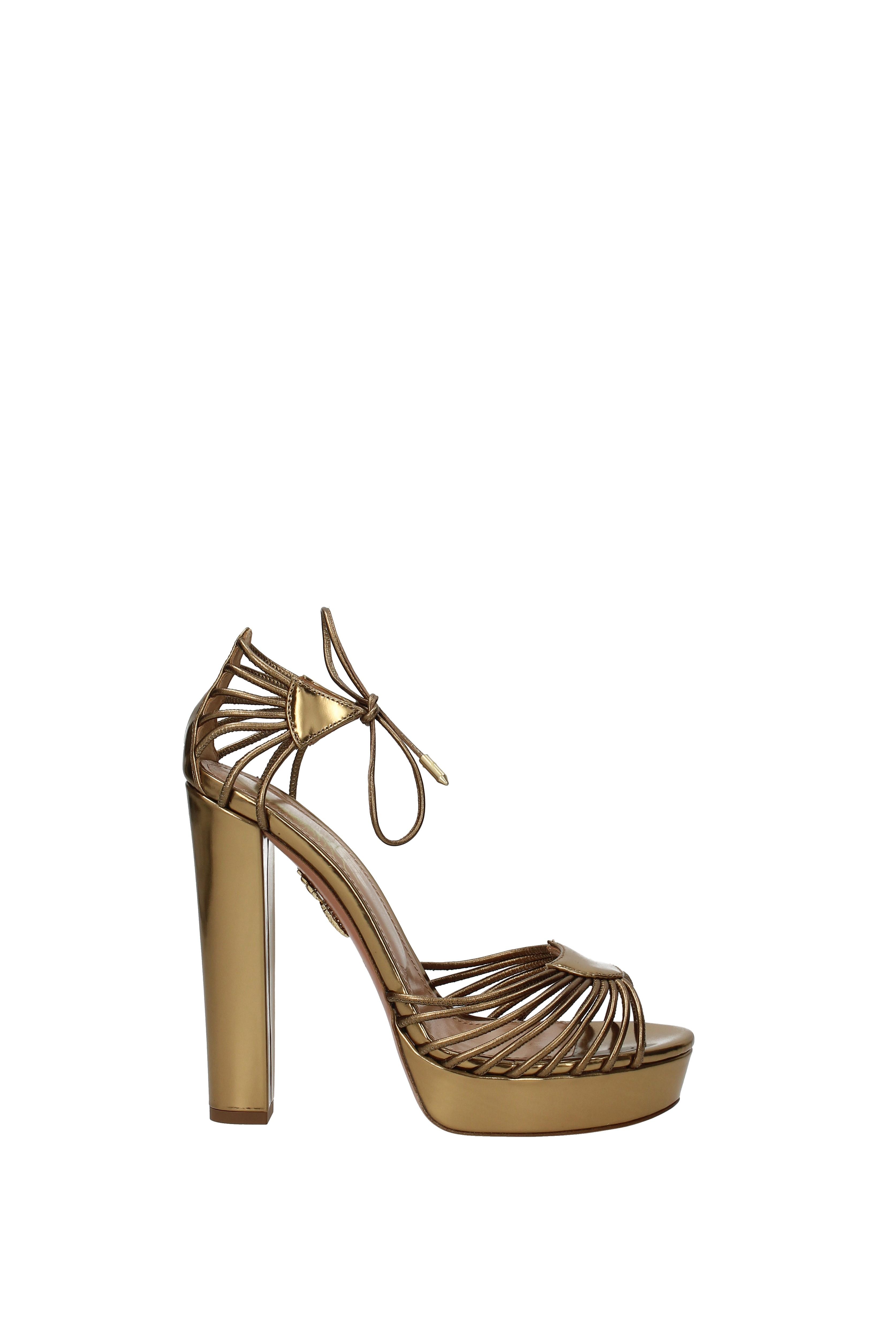 Sandals Aquazzura josephine  Leder Women -  Leder  (JOSHIGB0SPL) 1f68a6