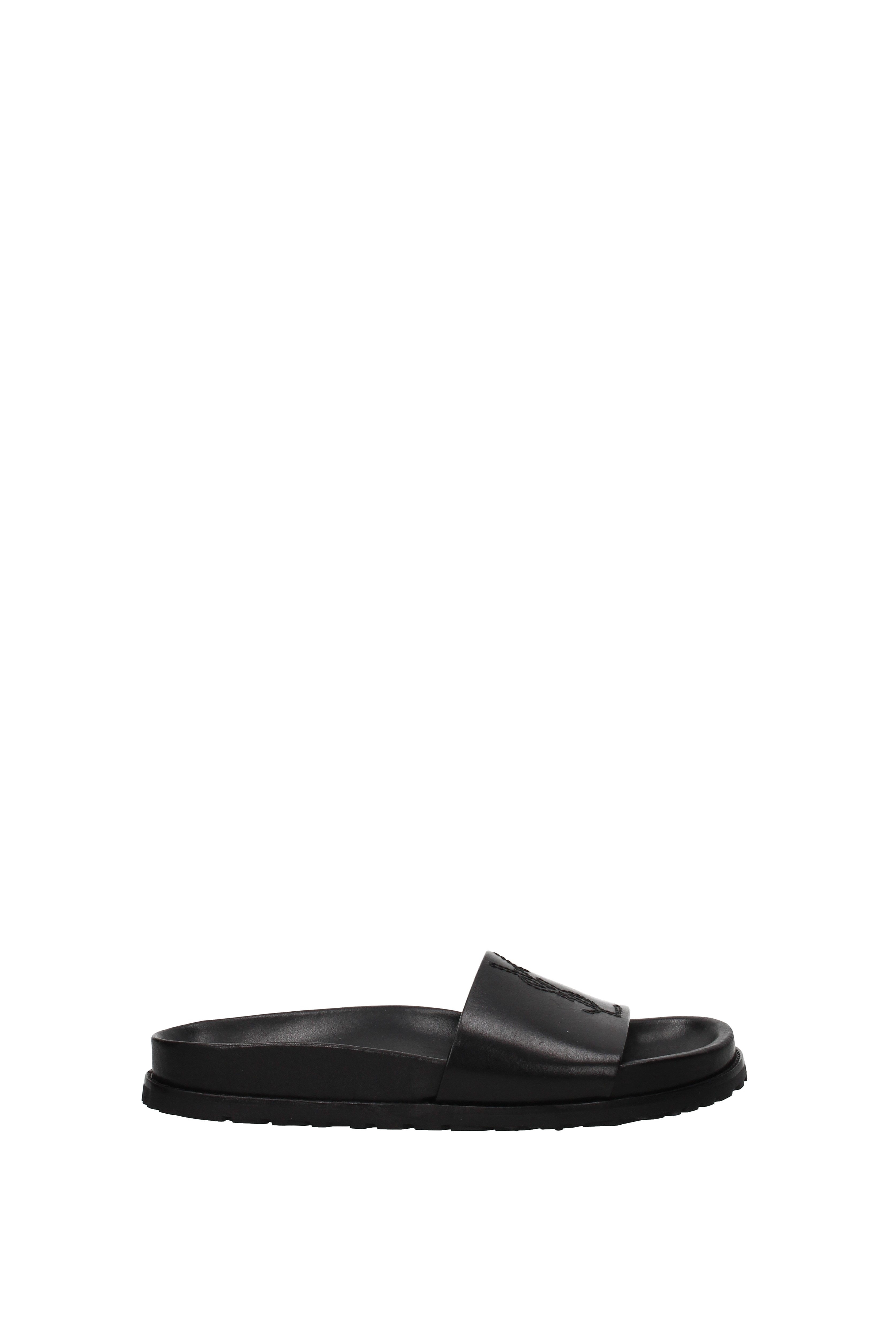 440b31f580a4 Slippers and clogs Saint Laurent jimmy Women - Leather (500220DWE00 ...