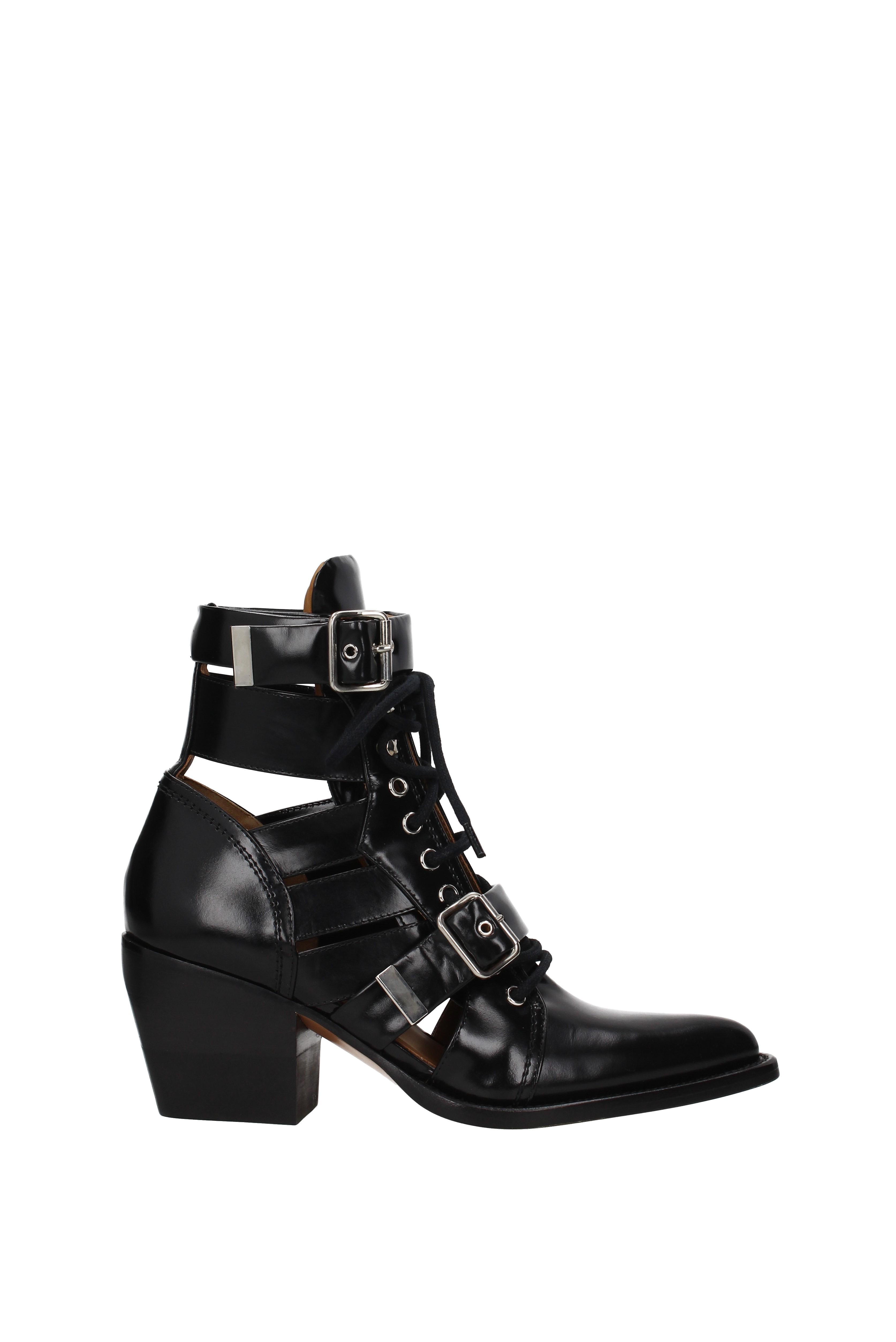 Ankle Leather Stiefel Chloé damen - Leather Ankle (CH305206B8S9) 305da7