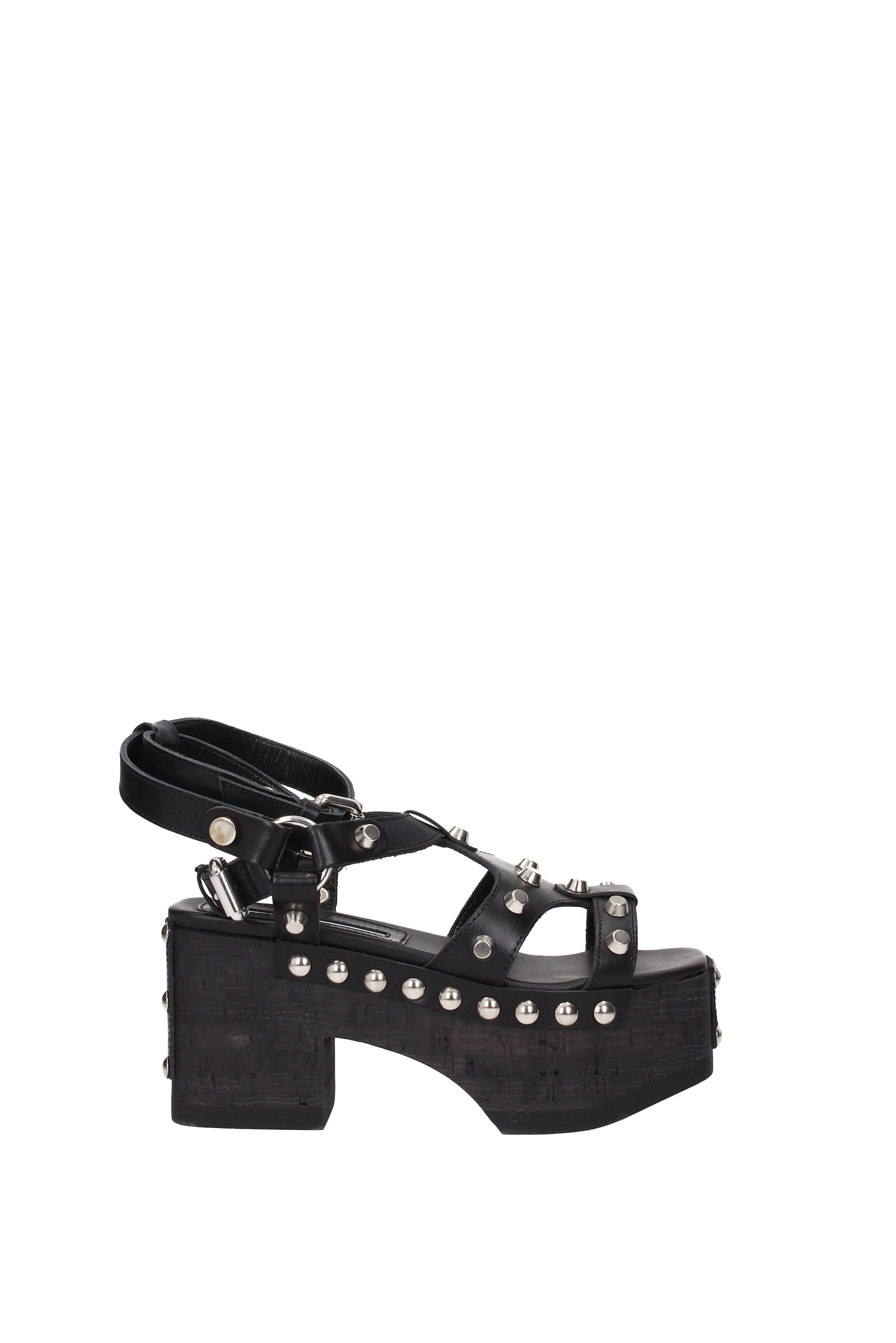 Sandals Alexander Alexander Sandals McQueen paloma gladiator Women - Leather (463337R2454) 994ada