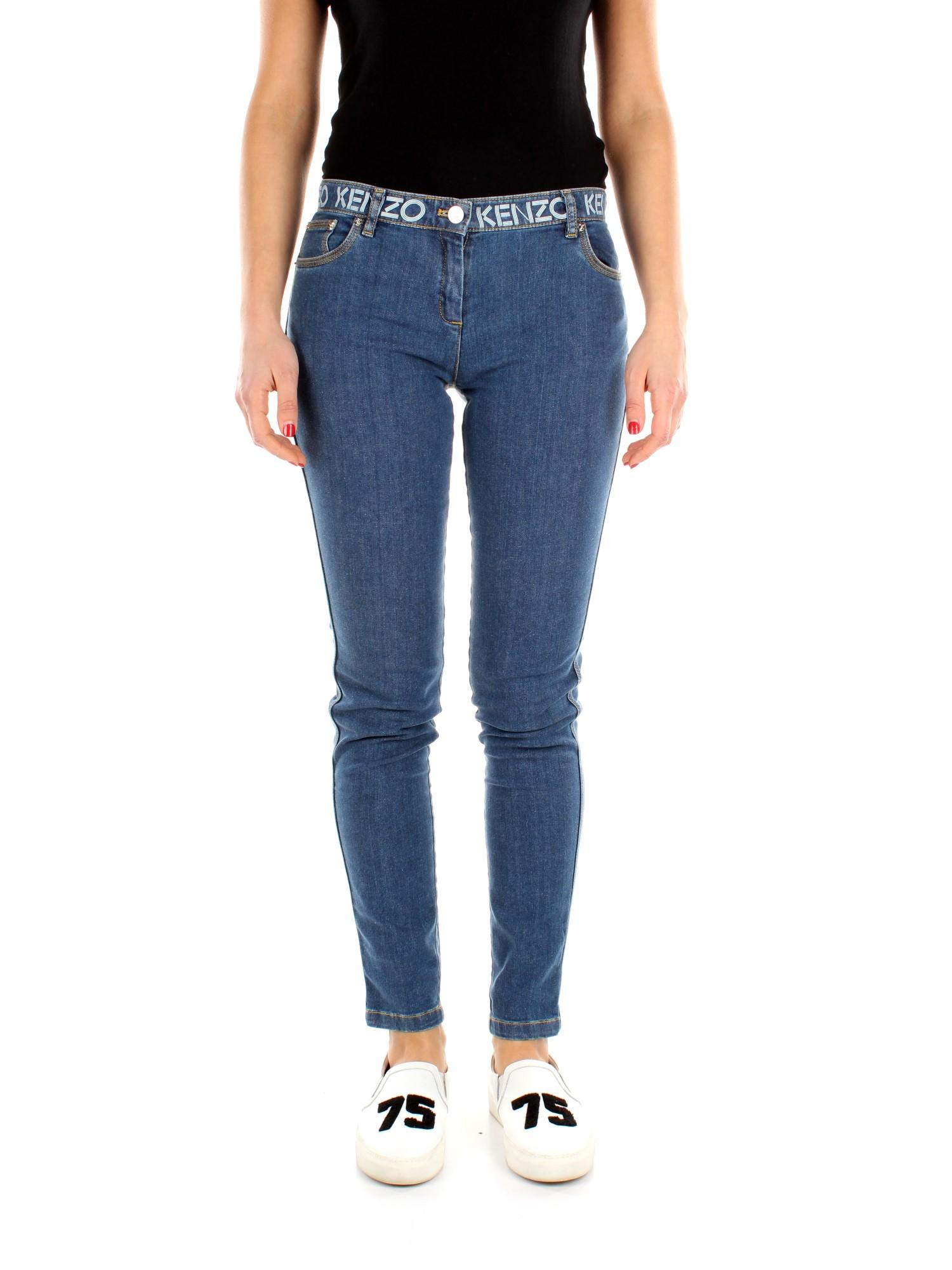 Jeans Kenzo skinny Damen - Baumwolle (6EF2PA250K02)