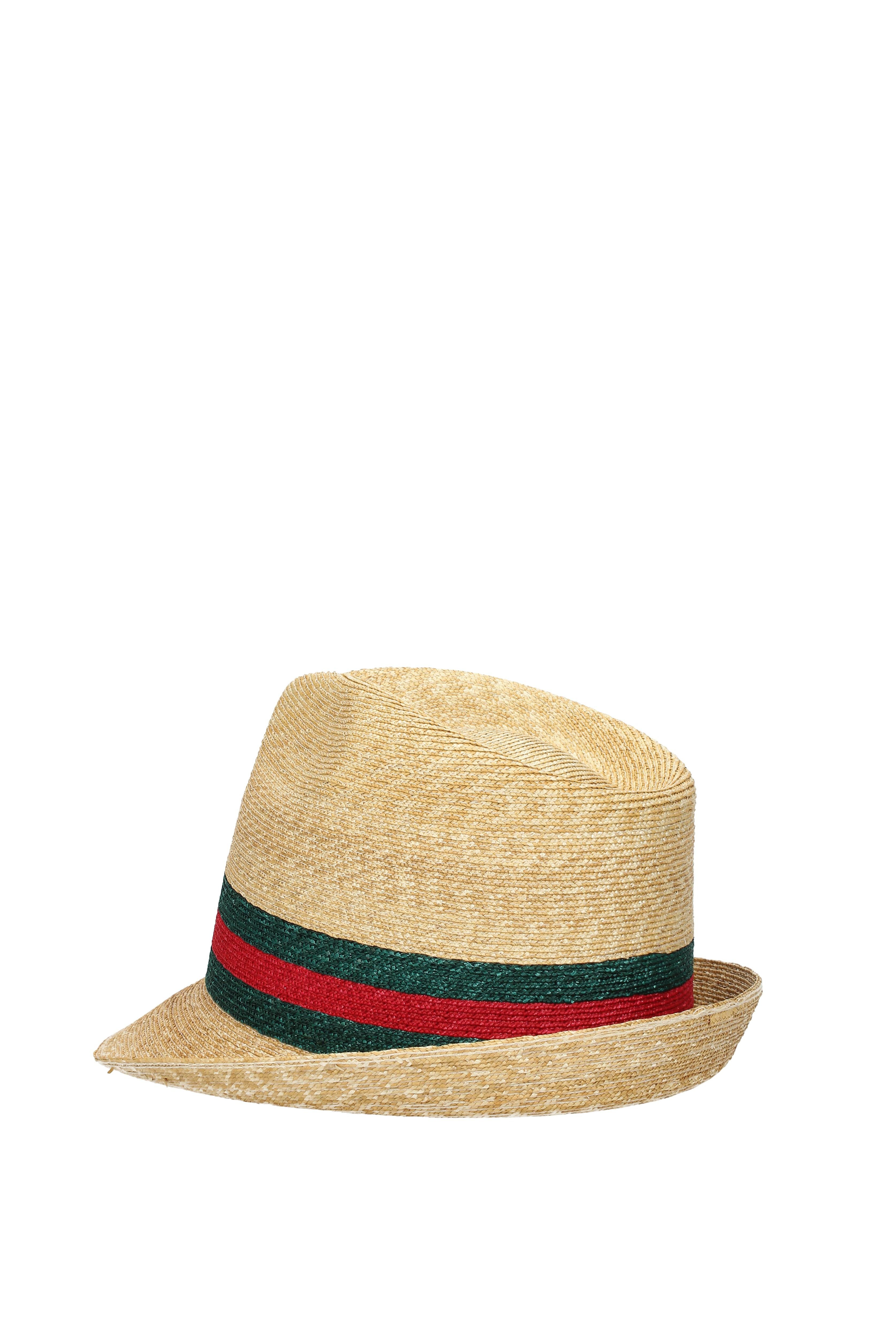 d1cc28fbc07 Hats-Gucci-Unisex-Straw-434760K0M00 thumbnail 4