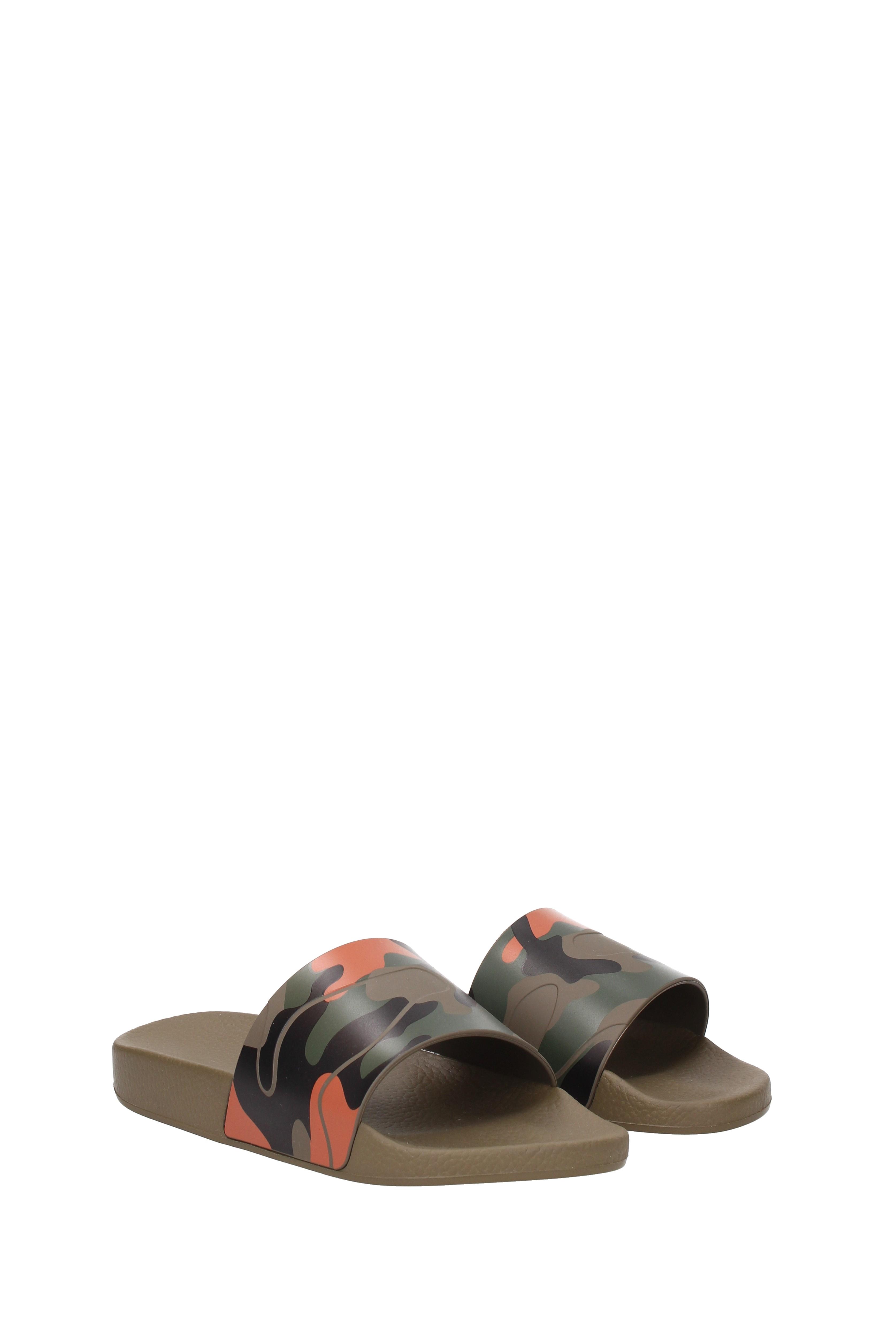 Pantofole da uomo Slippers and clogs Valentino Garavani uomo - Rubber (0S0873PCG)