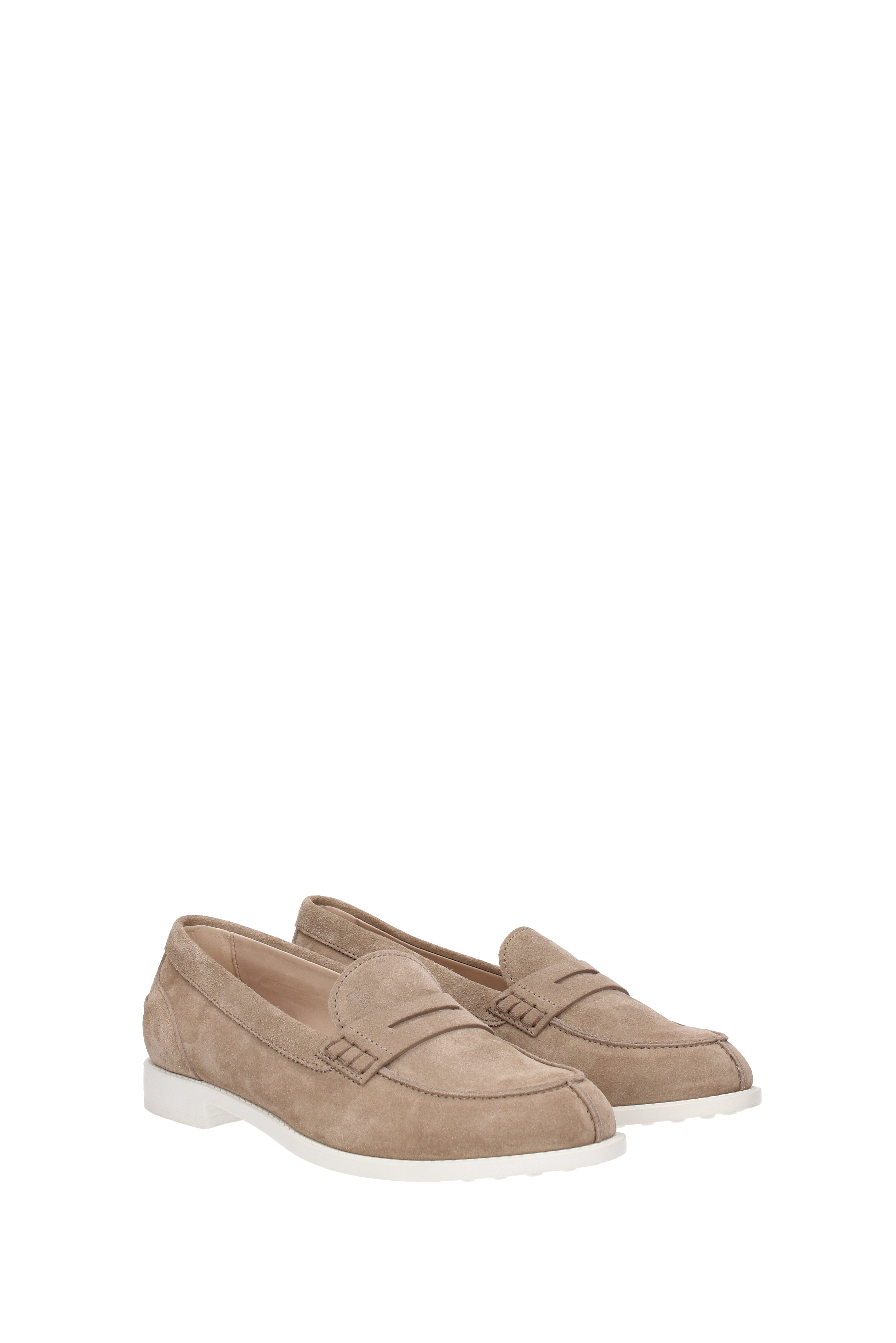 Loafers-Tod-039-s-Women-Suede-XXW0VK0L100RE0