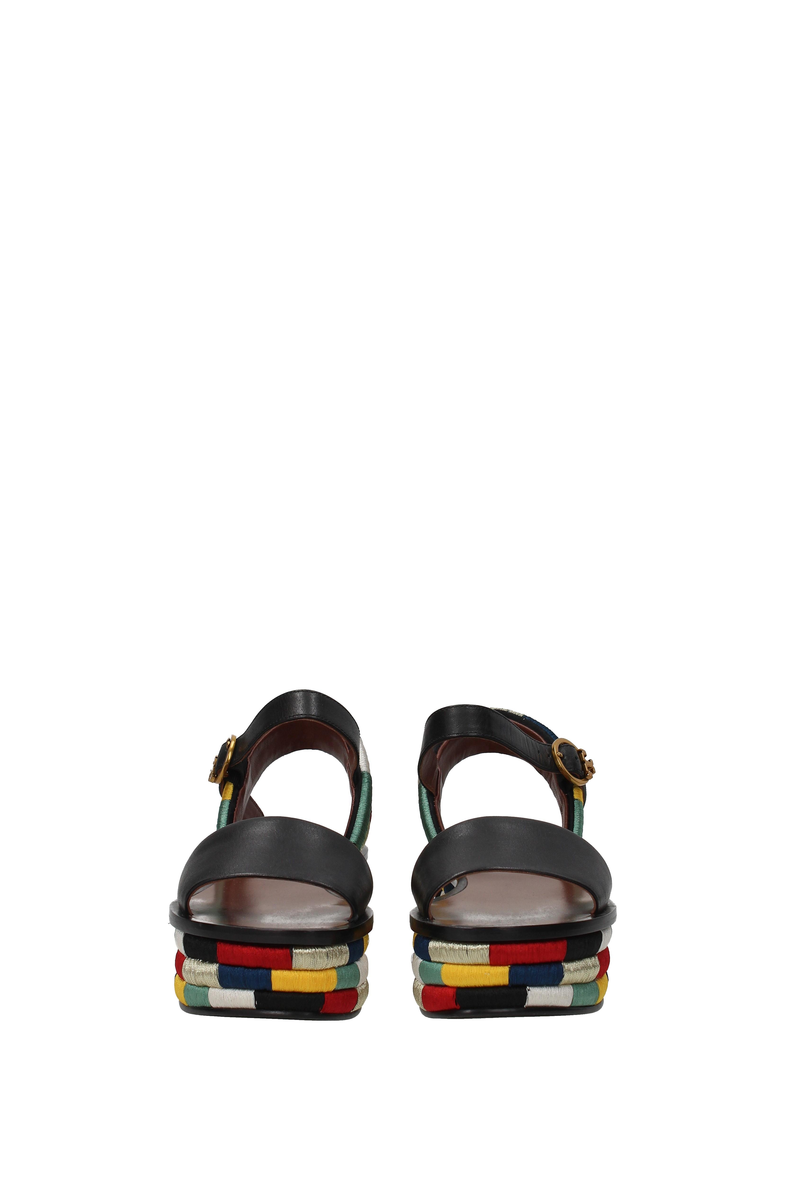 Sandalias de cuero Tory Burch Camilla Mujeres - - - (42806) 098c82