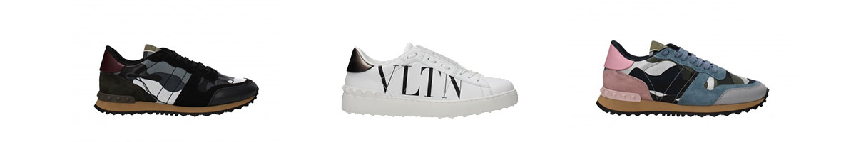 Valentino Garavani sneakers on sale up